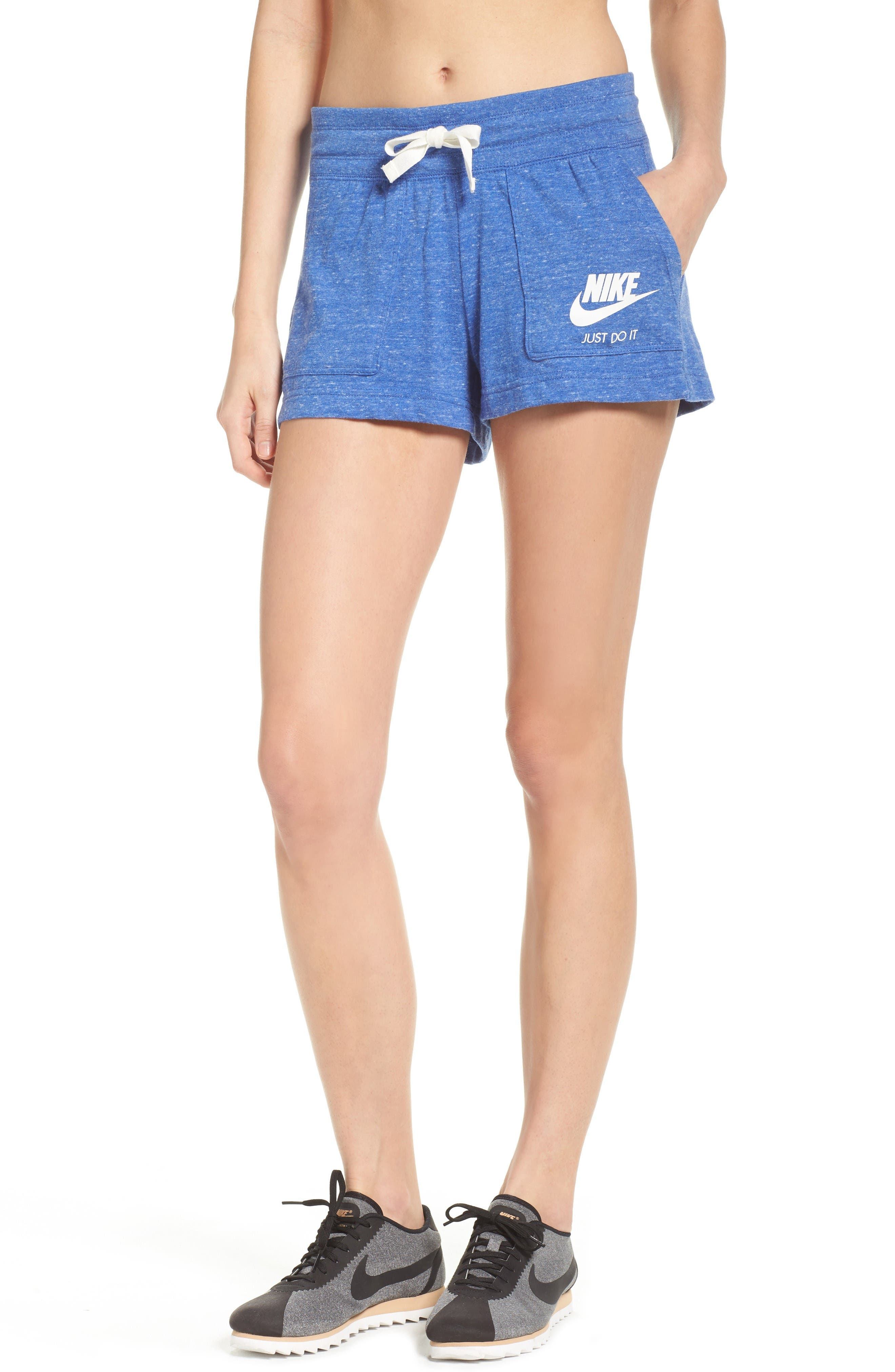 Alternate Image 1 Selected - Nike 'Gym' Cotton Blend Shorts