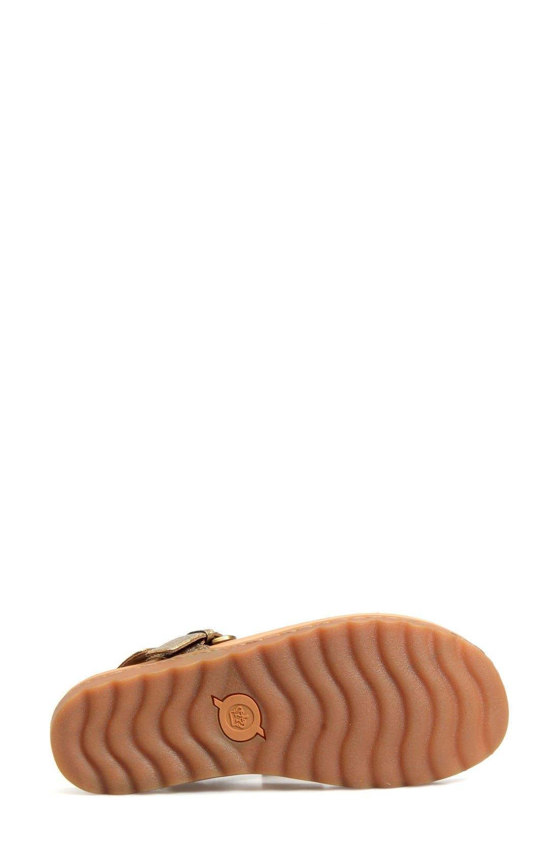 Alternate Image 4  - Børn 'Reta' Leather Thong Sandal (Women)