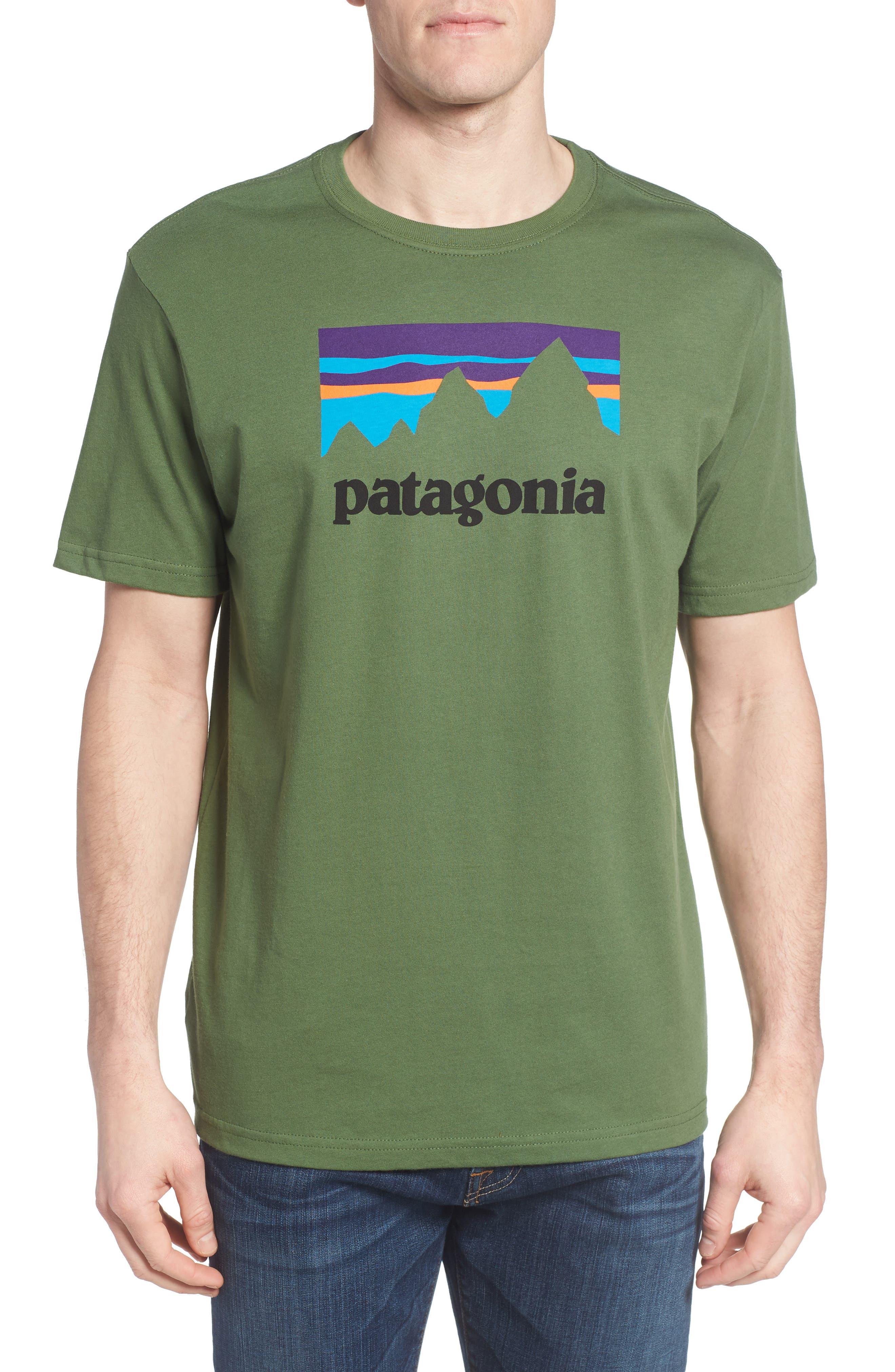 Patagonia Shop Sticker Regular Fit T-Shirt