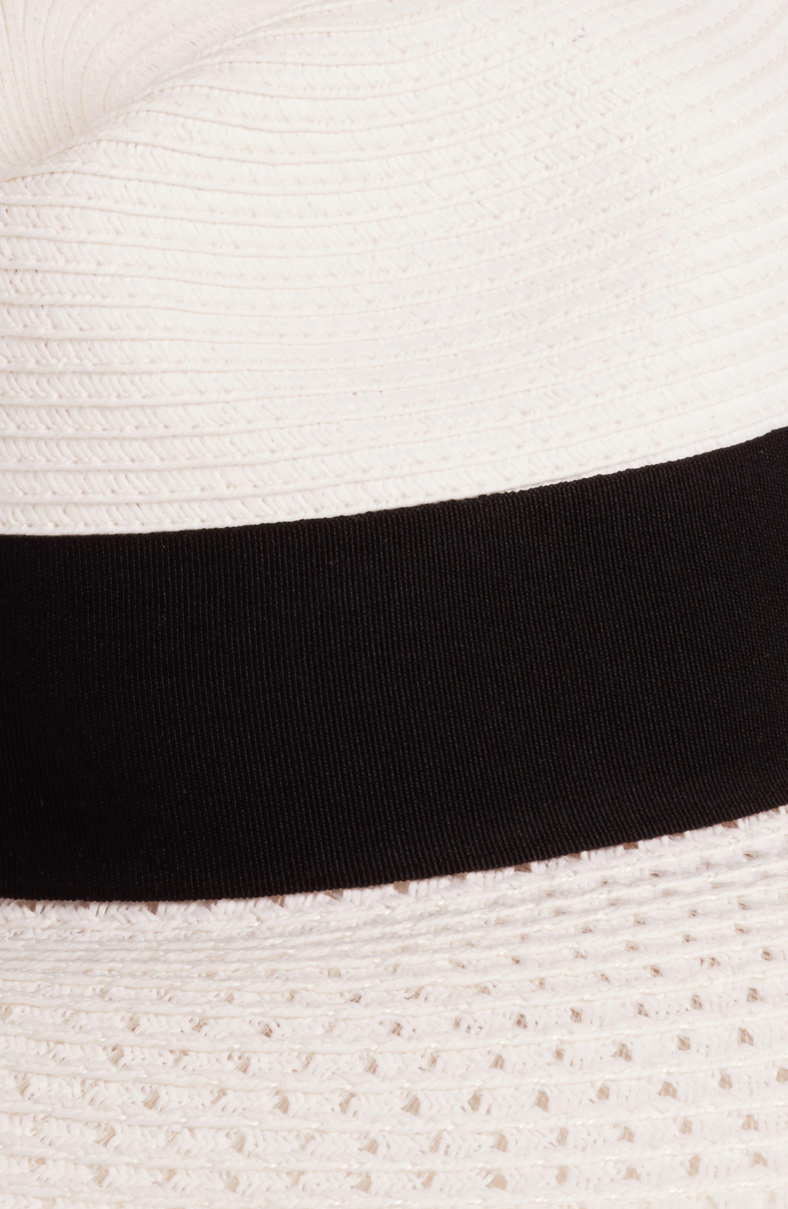 Alternate Image 2  - Nordstrom Wide Brim Straw Panama Hat