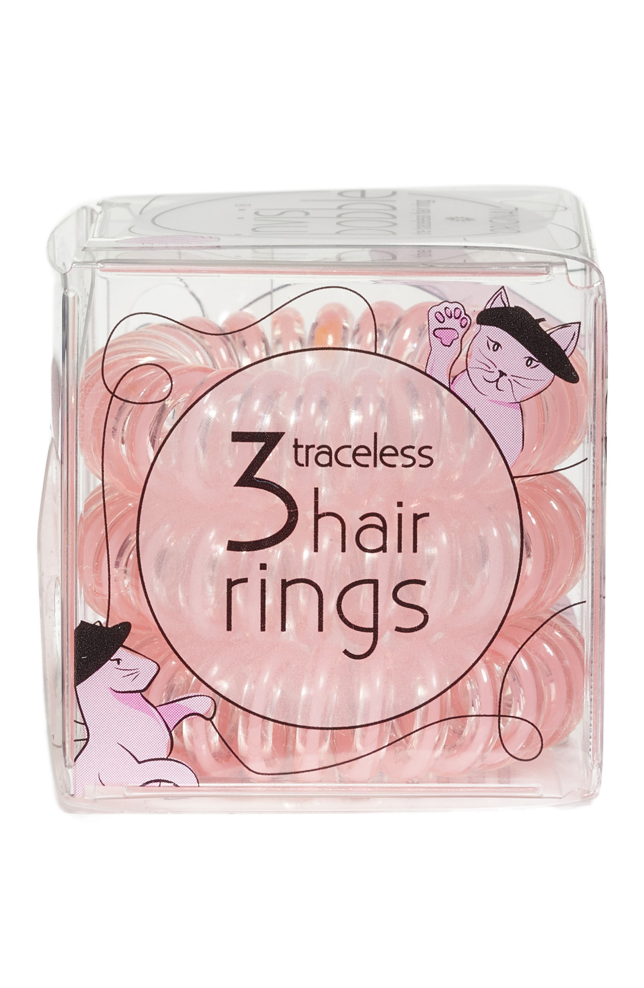 Alternate Image 2  - Invisibobble 3-Pack Hair Ties
