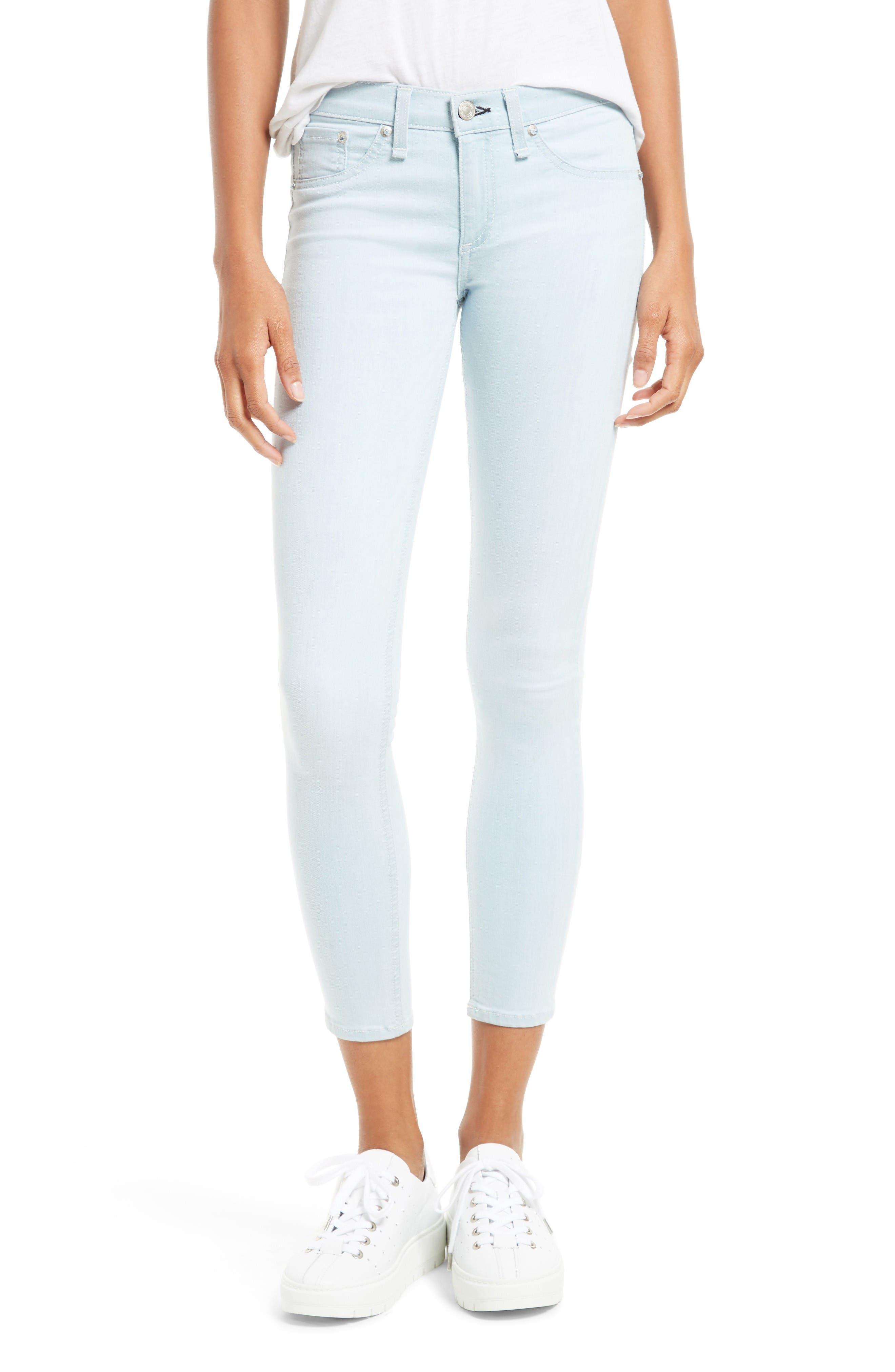 rag & bone/JEAN Capri Skinny Jeans (Fay)