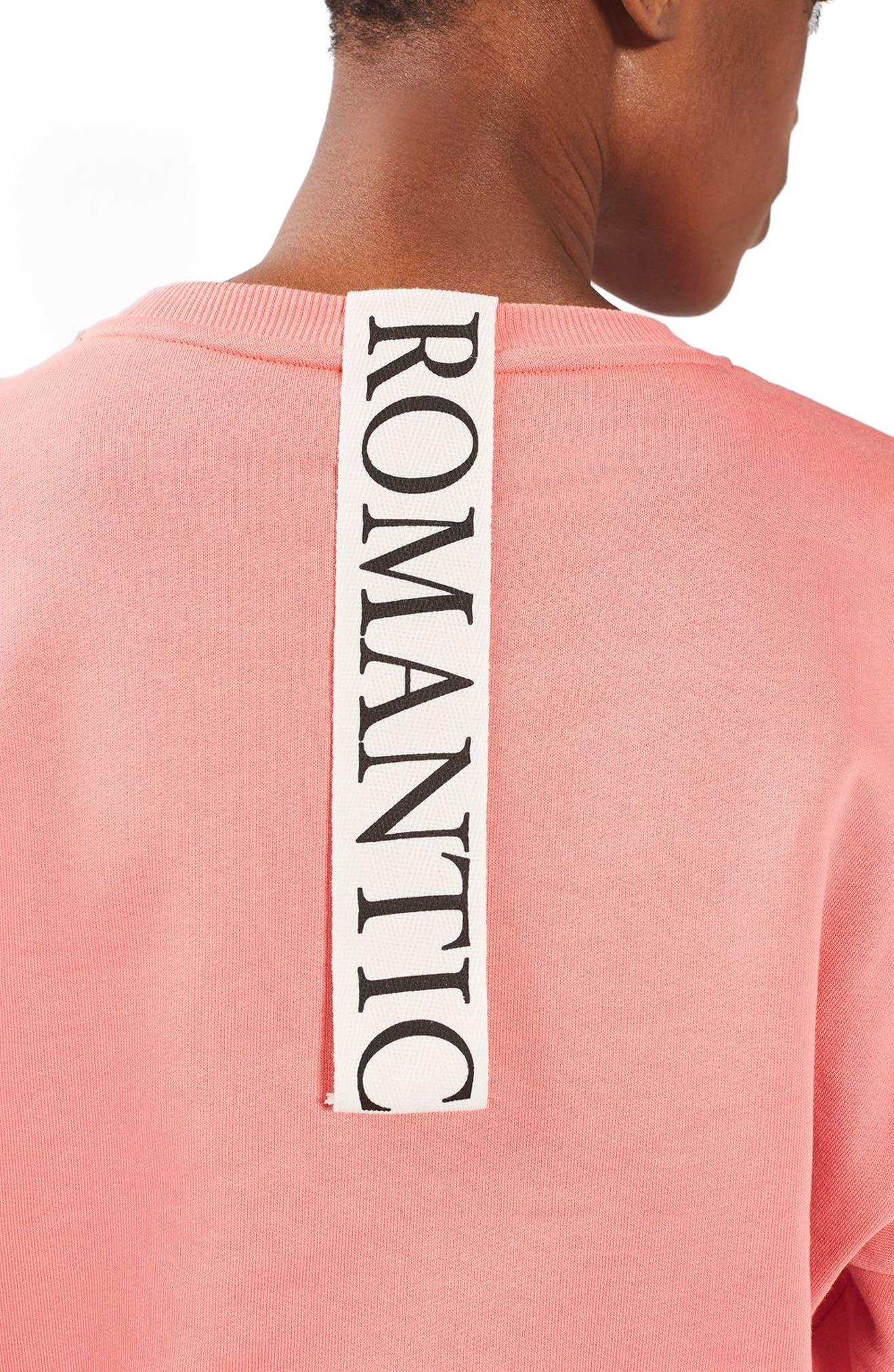 Alternate Image 5  - Topshop Romance Sweatshirt