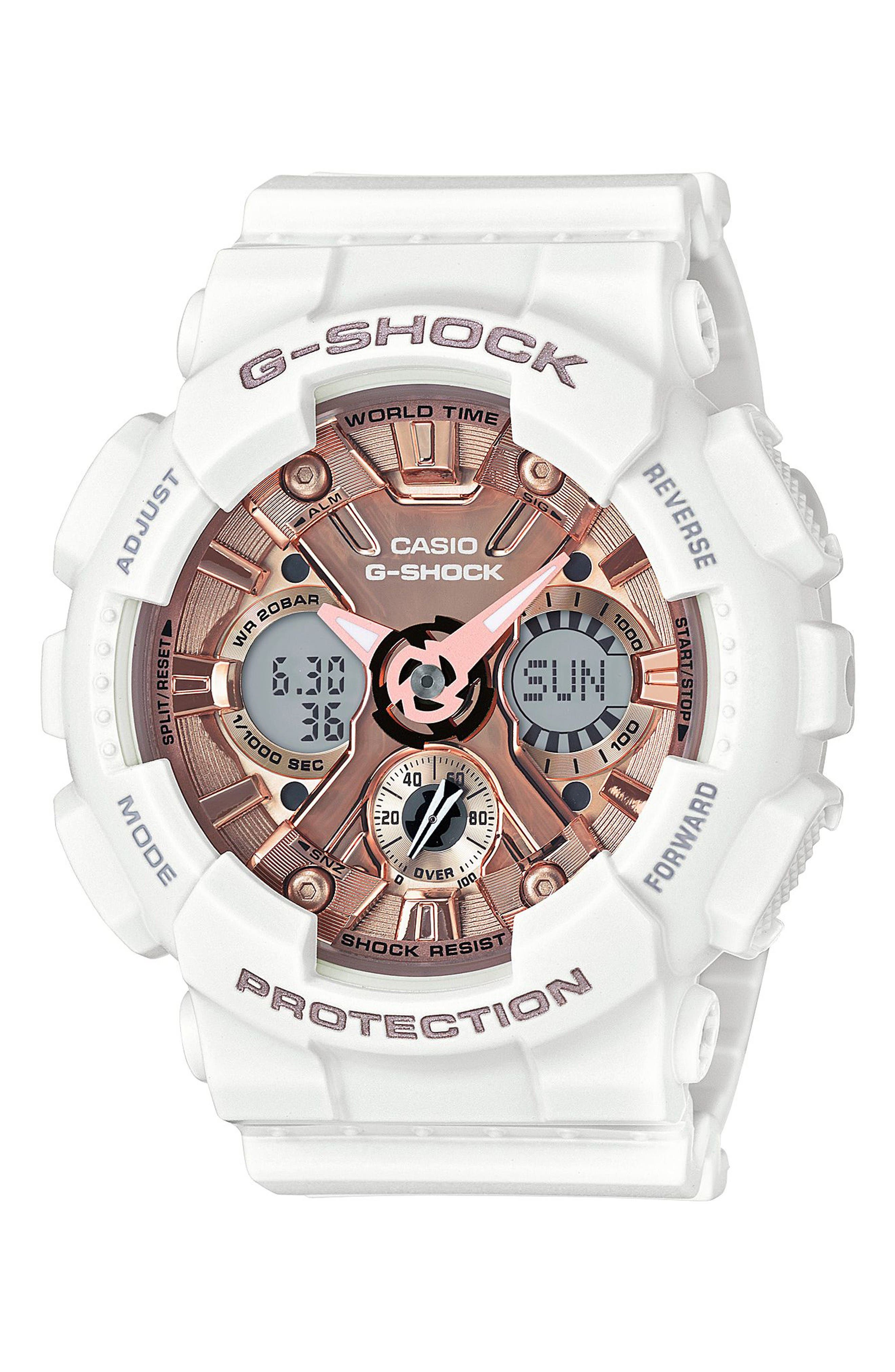 G-Shock S-Series Ana-Digi Watch, 49mm