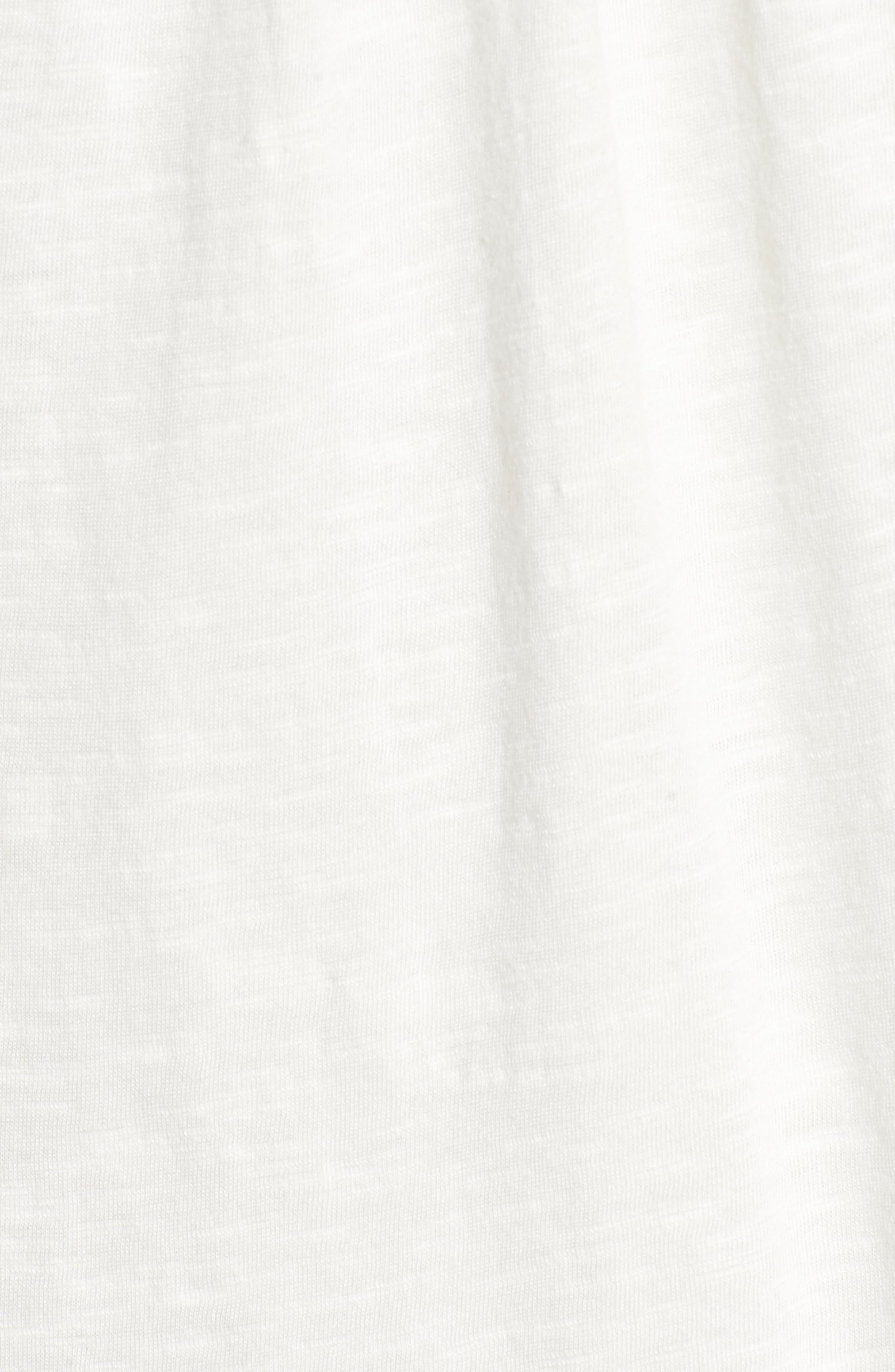 Alternate Image 5  - Caslon® Embroidered Yoke Tank (Regular & Petite)