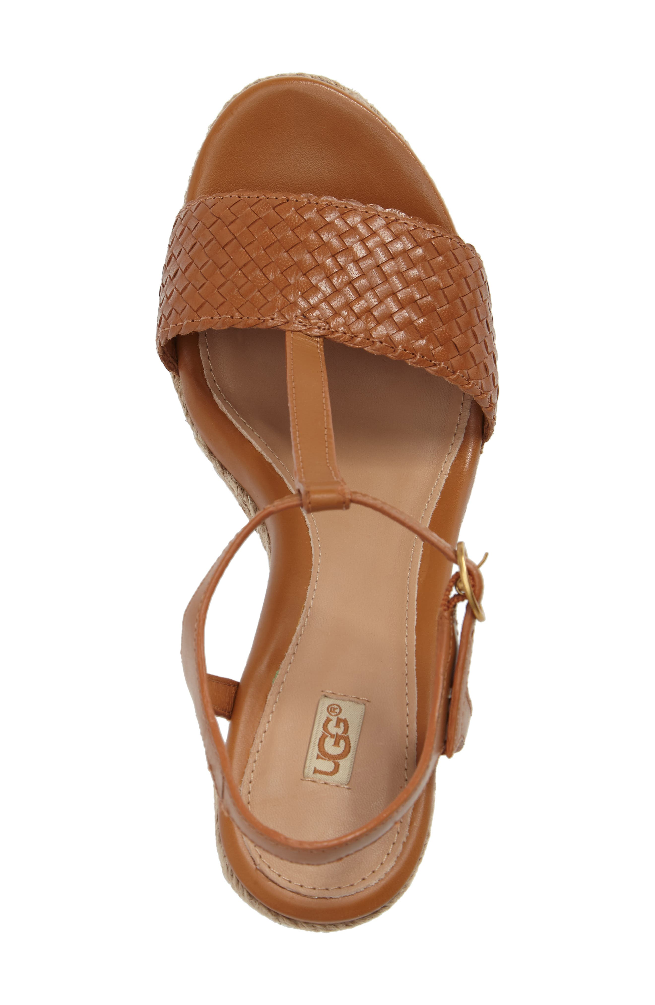 Alternate Image 5  - UGG® Fitchie II Espadrille Wedge Sandal (Women)