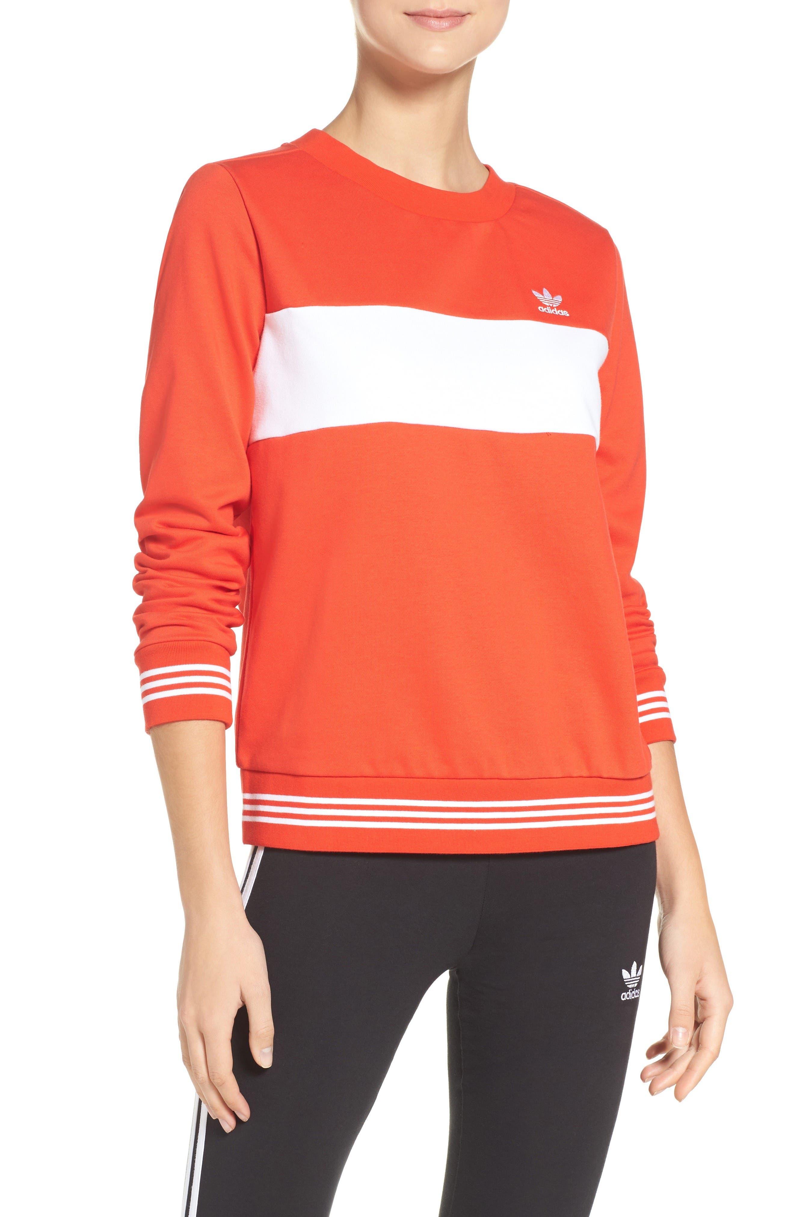adidas Originals Stripe Sweatshirt