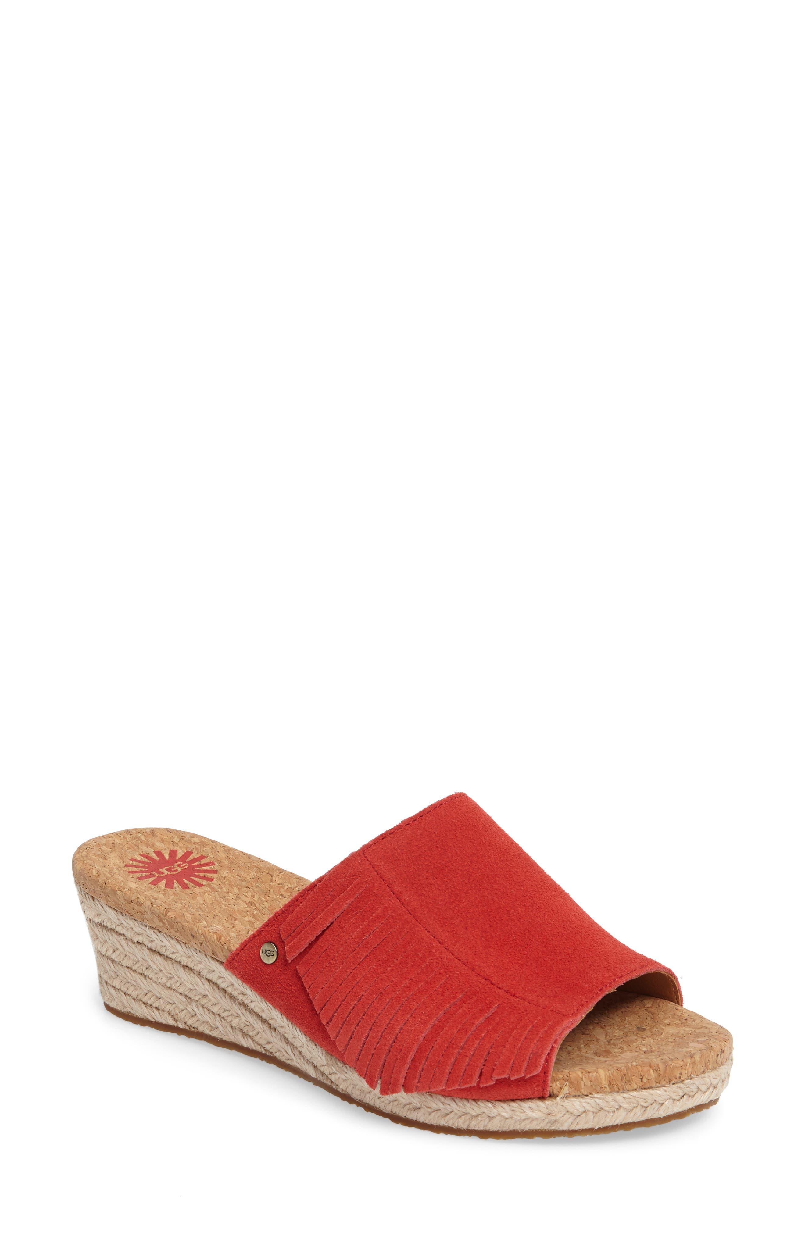 UGG® Danes Espadrille Wedge Sandal (Women)