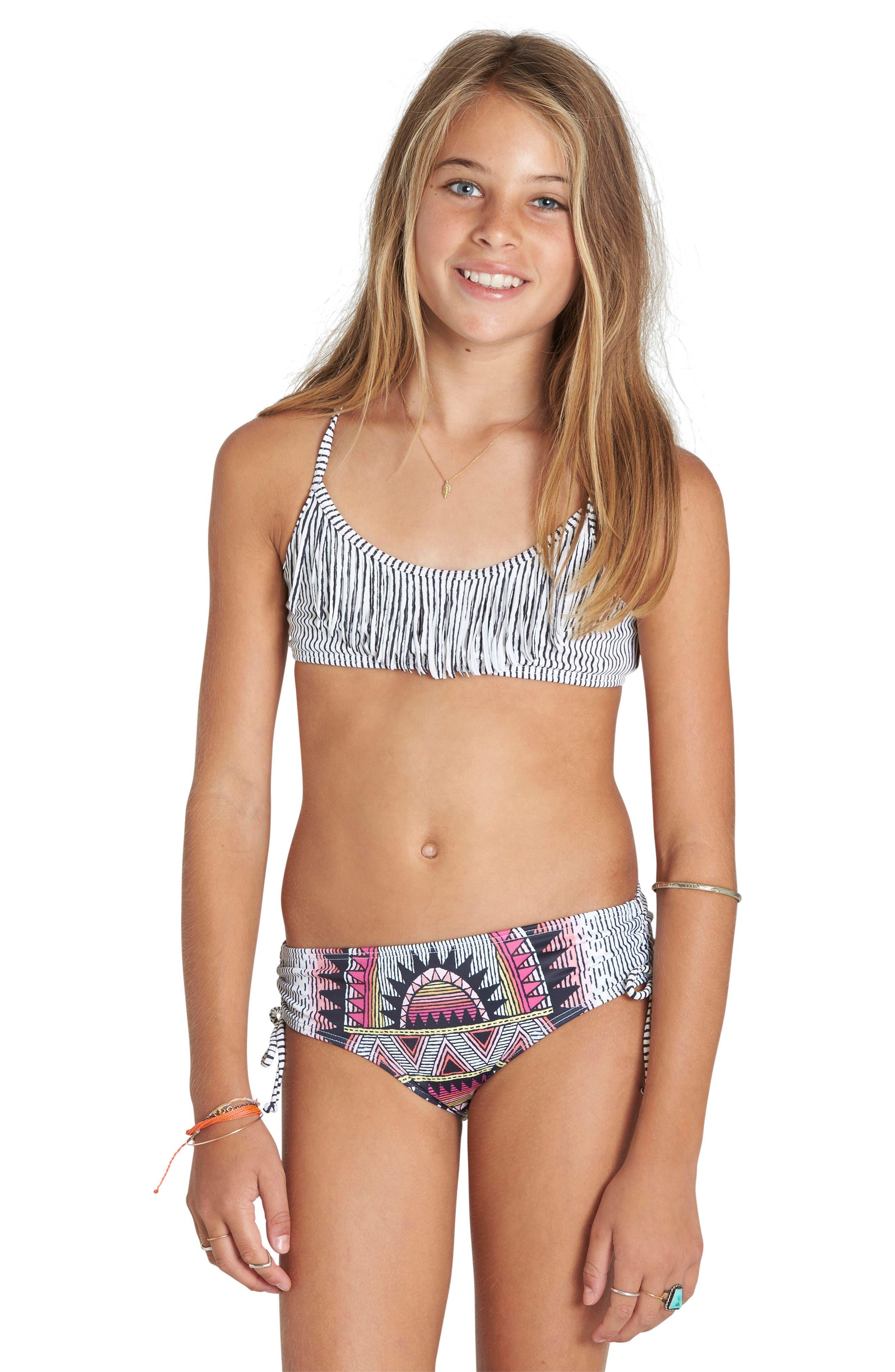 Billabong Boho Babe Two-Piece Swimsuit (Little Girls & Big Girls)