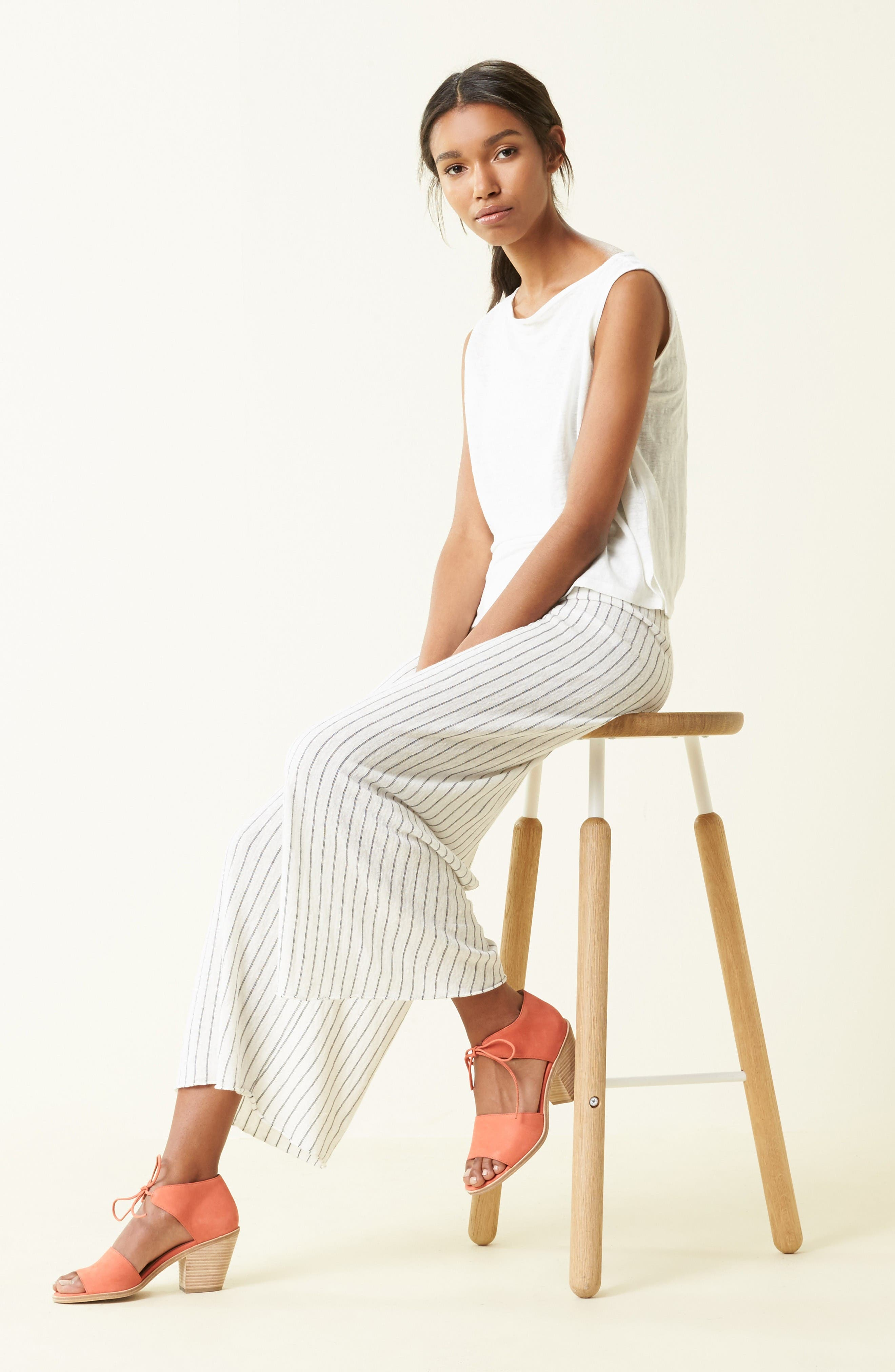 Alternate Image 5  - Eileen Fisher Ann Ankle Tie Sandal (Women)