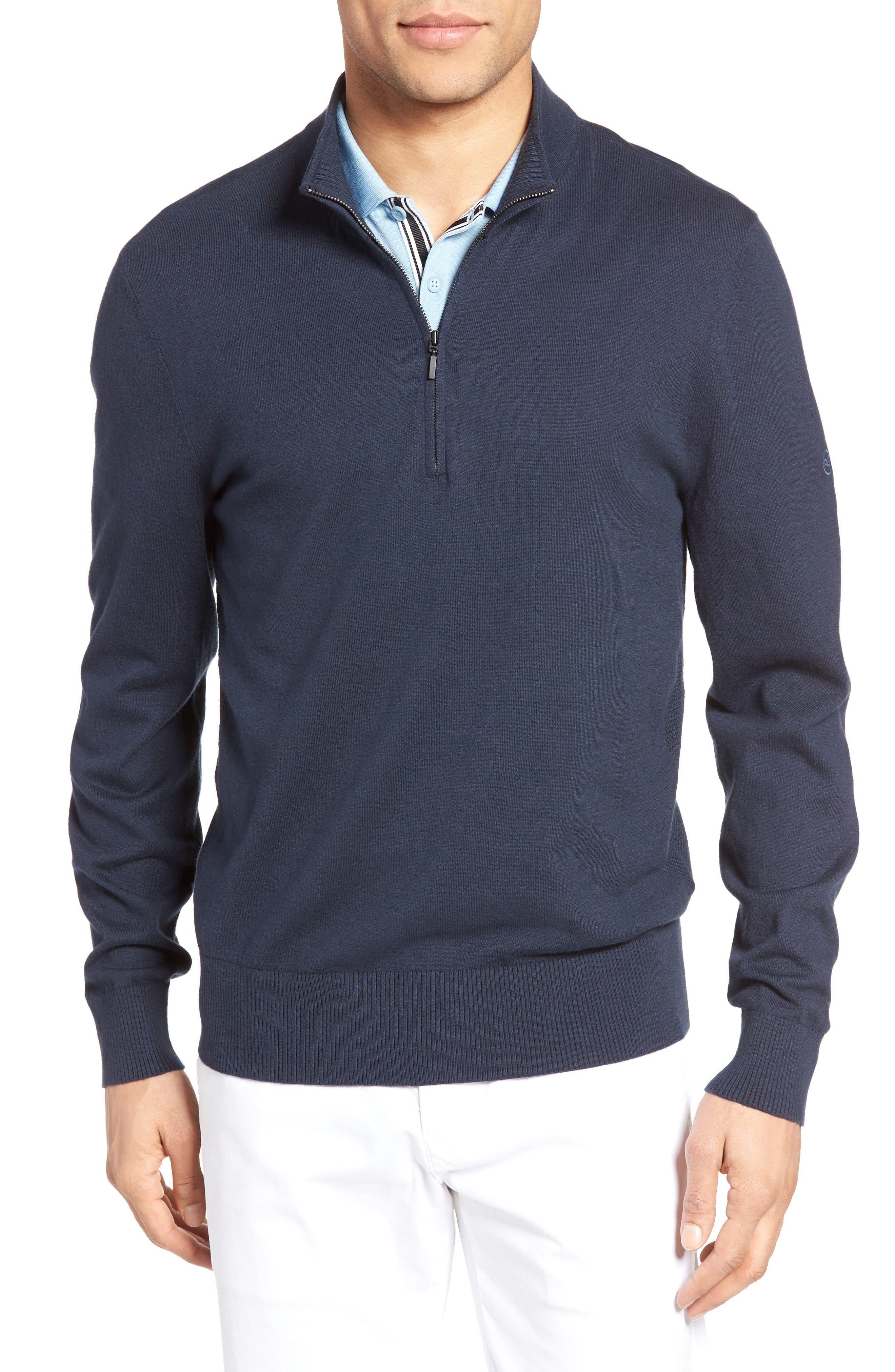 AG The Hanover Quarter Zip Pullover