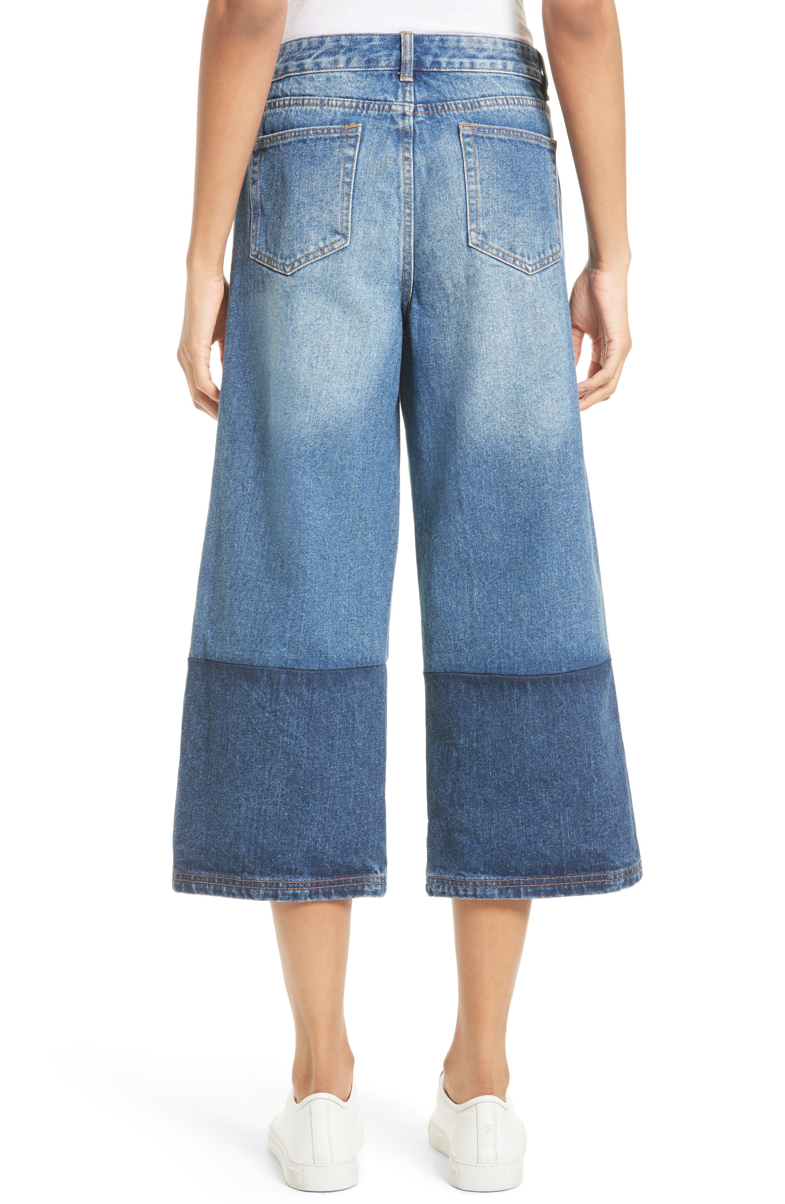 Alternate Image 2  - Robert Rodriguez Two-Tone Gaucho Jeans