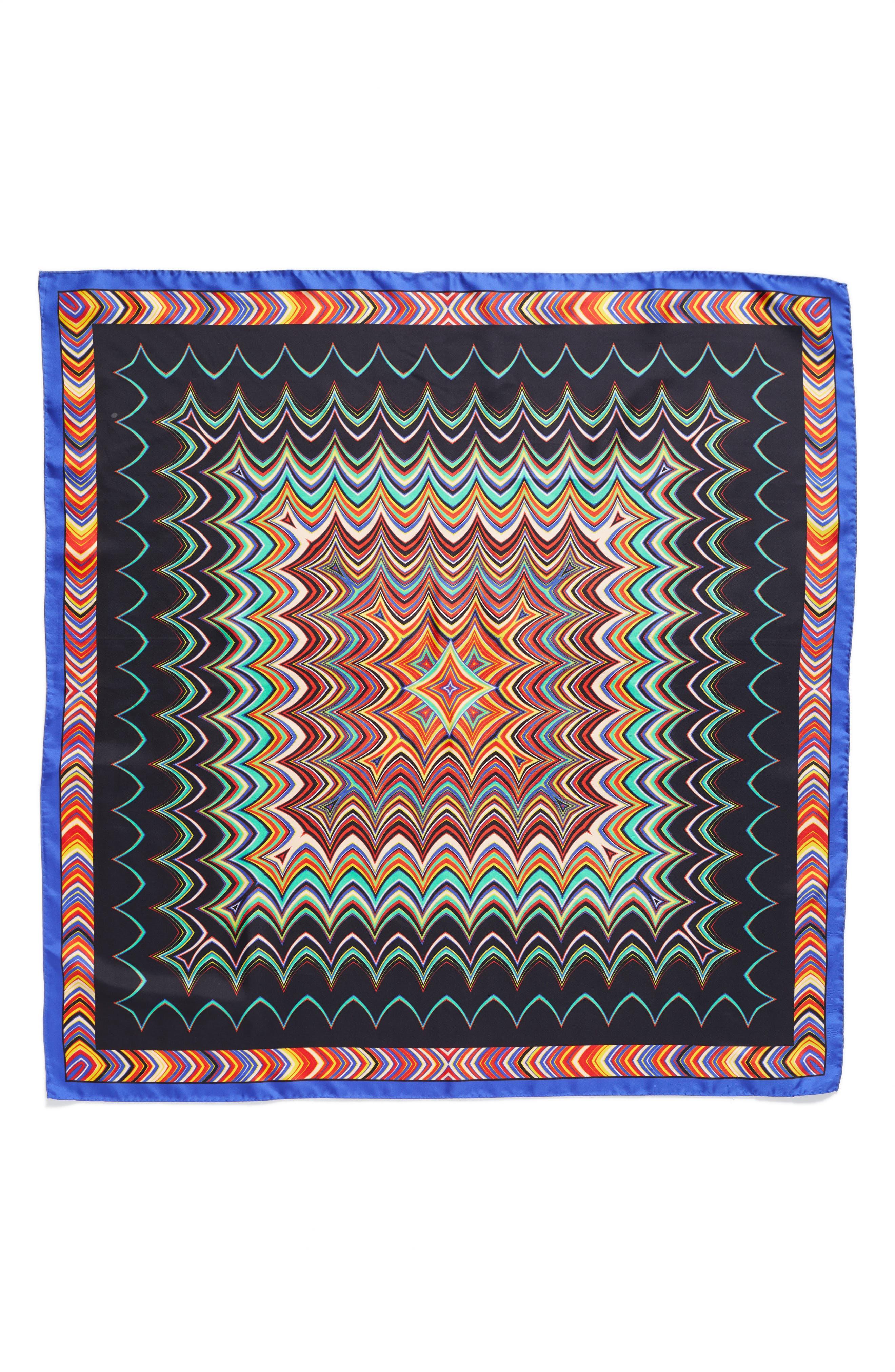 Missoni Zigzag Square Silk Scarf
