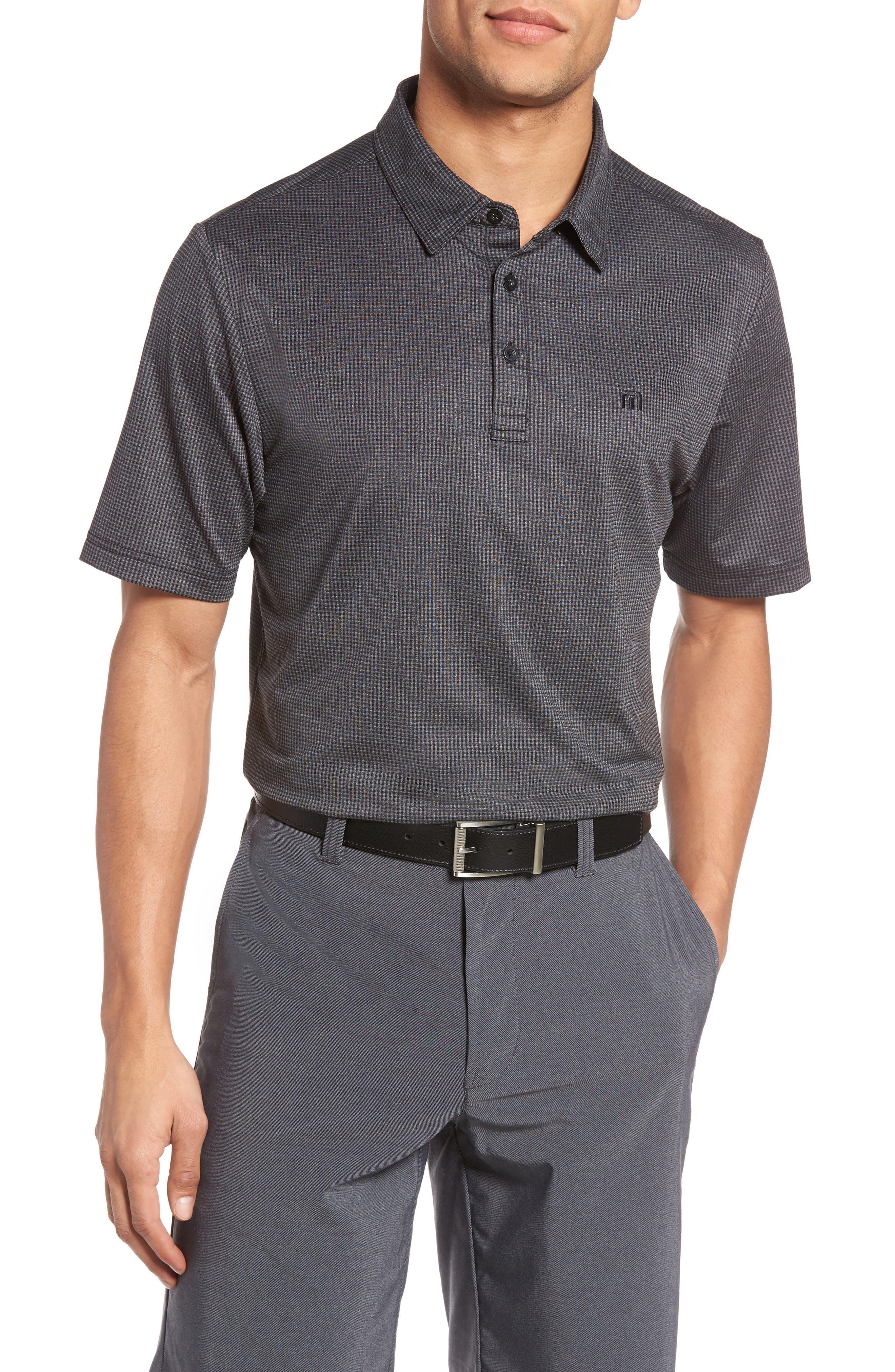 Travis Mathew Garber Slim Fit Wrinkle-Resistant Polo