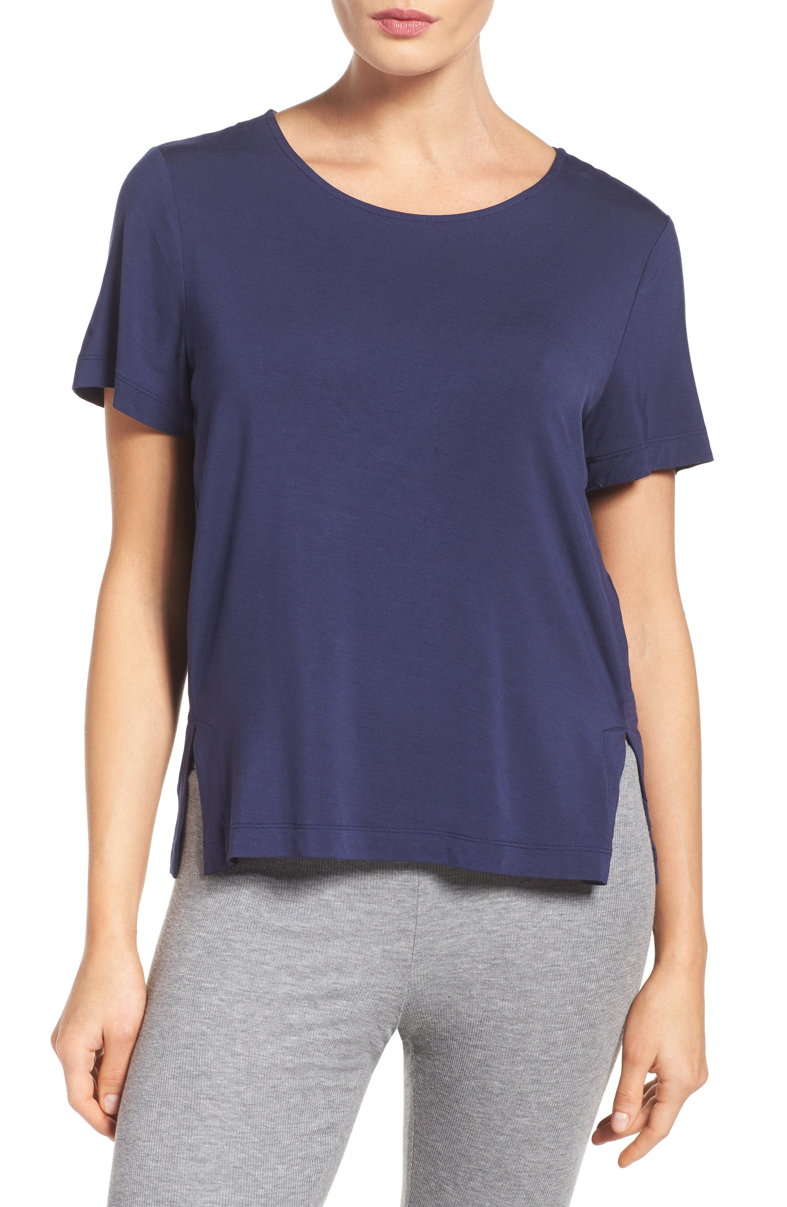 Alternate Image 1 Selected - DKNY Lounge Tee