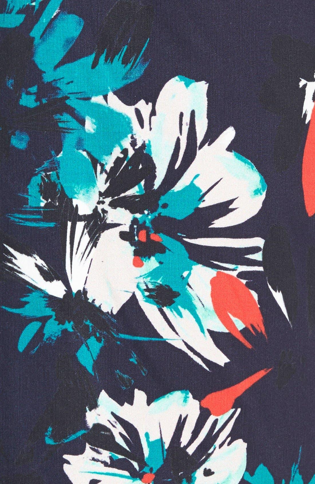 Alternate Image 3  - Chelsea28 High Waist Floral Pencil Skirt