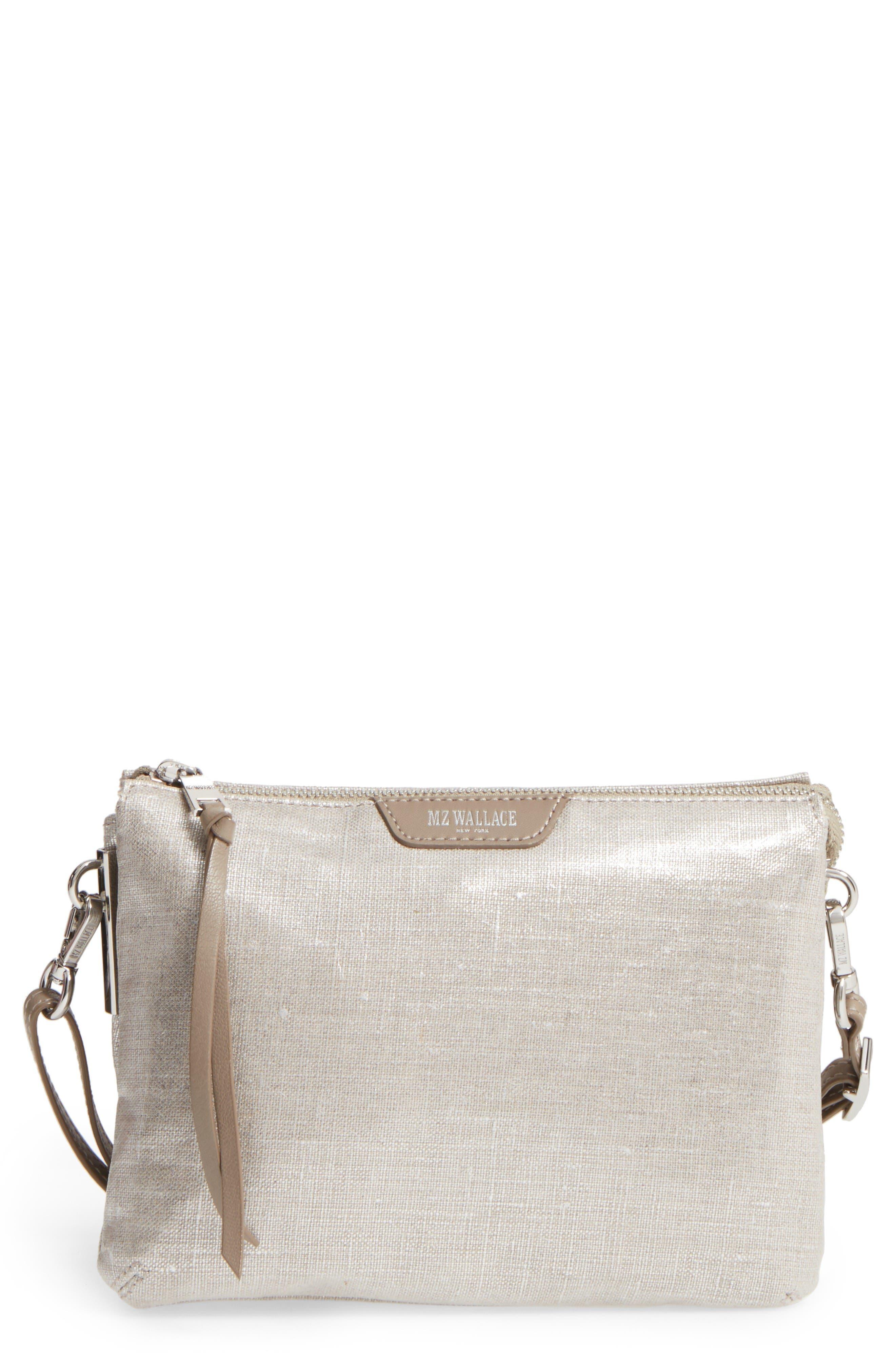 Alternate Image 1 Selected - MZ Wallace 'Pippa' Bedford Nylon Crossbody Bag
