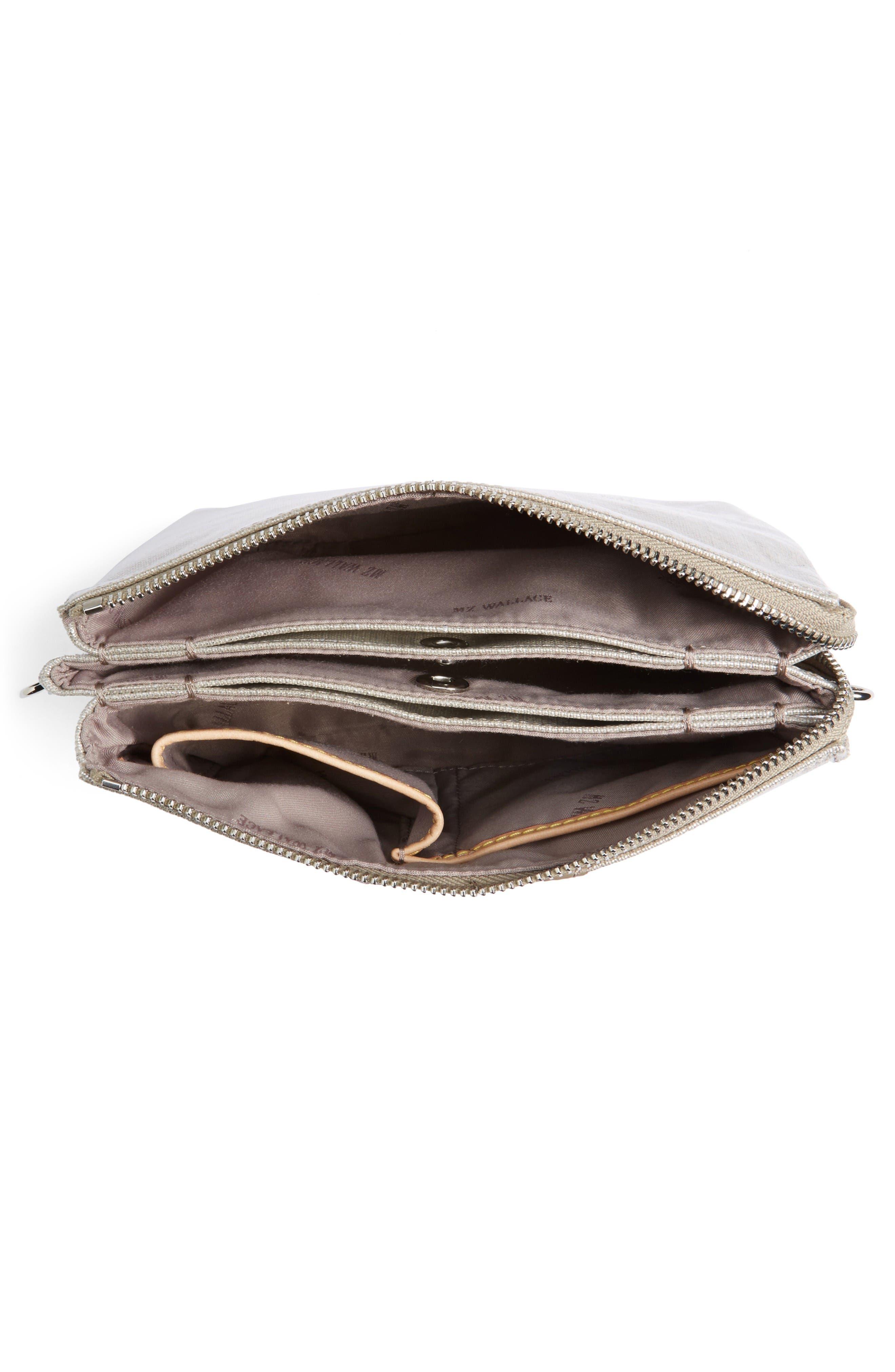 Alternate Image 4  - MZ Wallace 'Pippa' Bedford Nylon Crossbody Bag