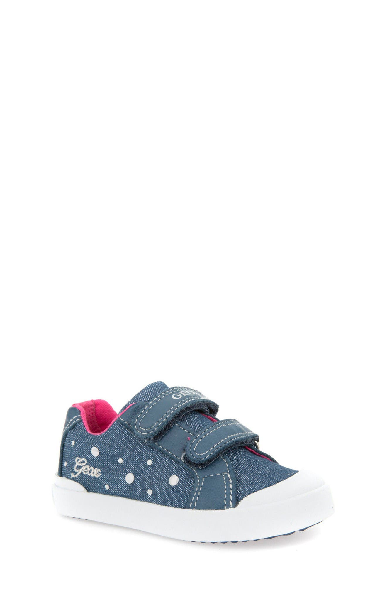 Geox Kiwi Studded Sneaker (Walker & Toddler)