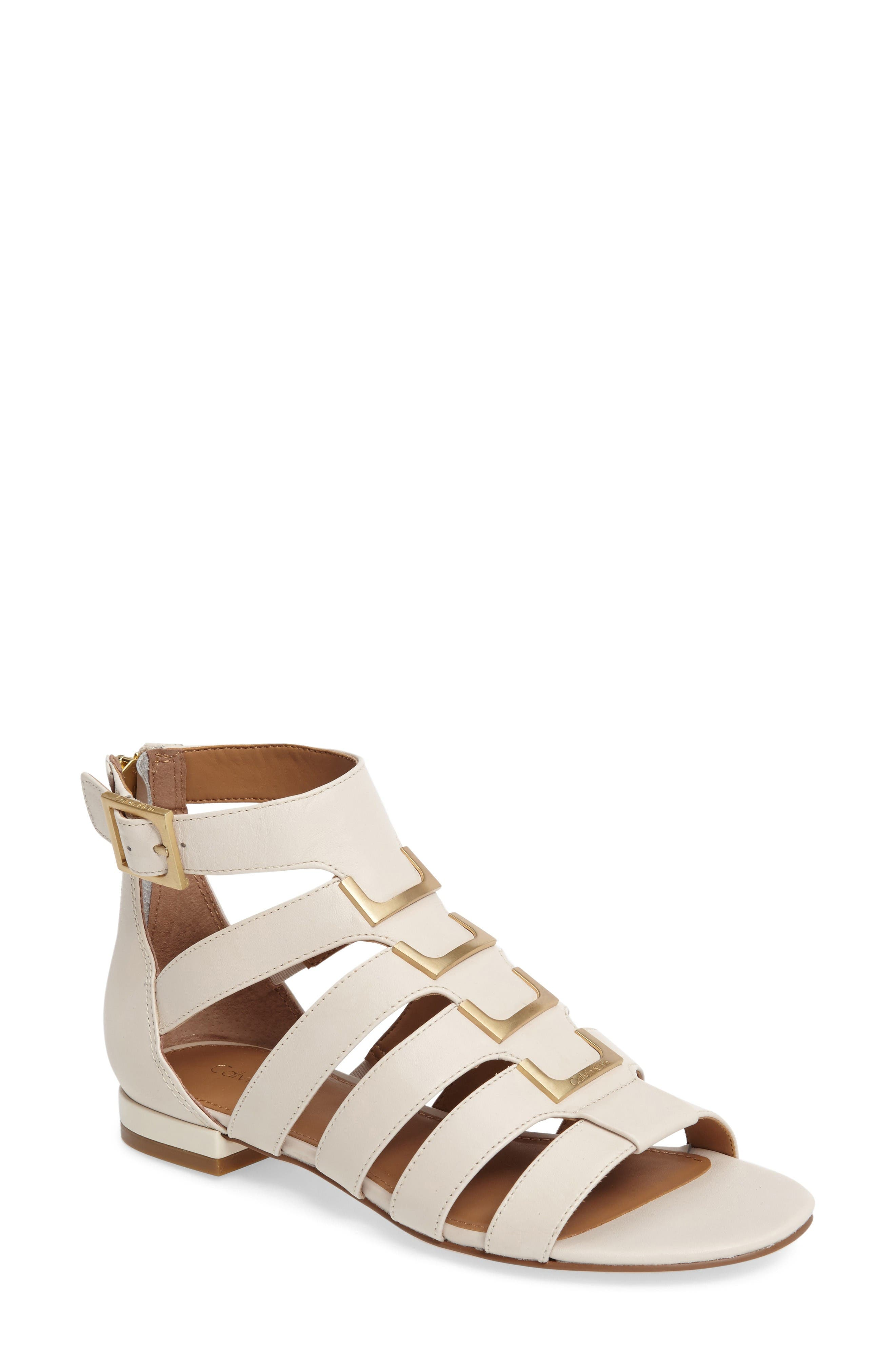 Calvin Klein Estes Gladiator Sandal (Women)