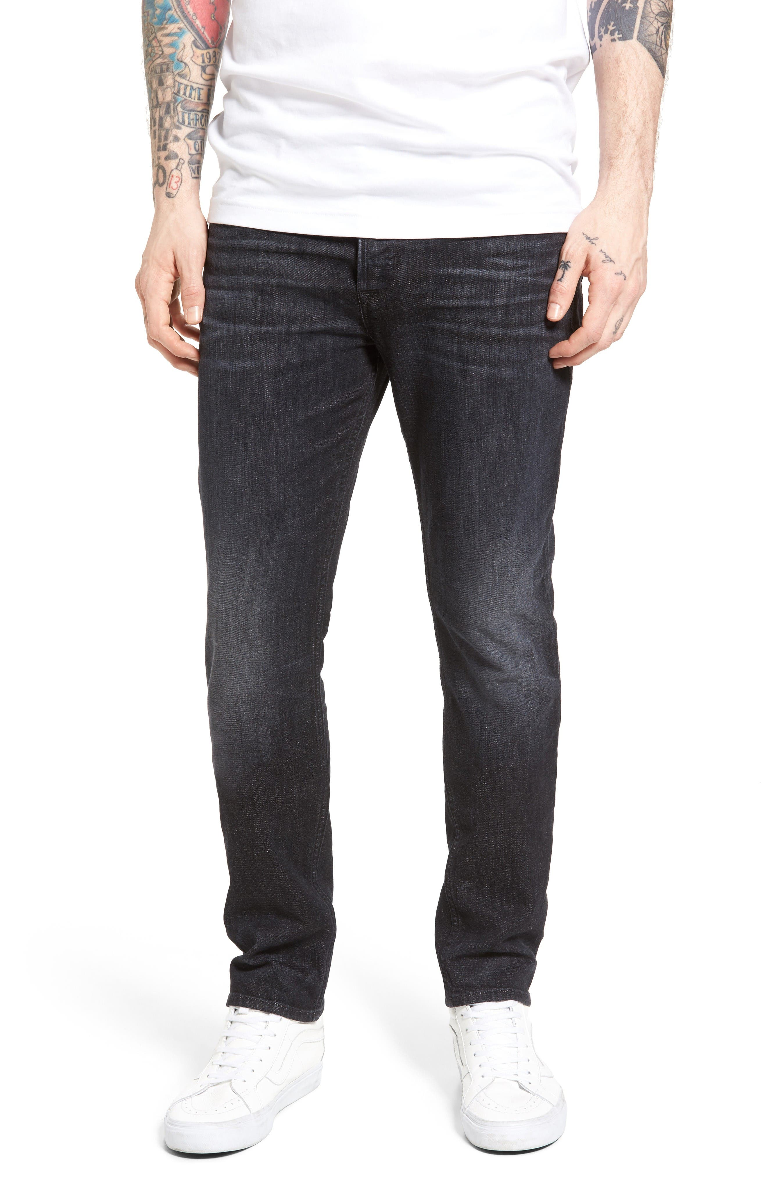 Hudson Jeans Axl Skinny Fit Jeans (Sparring)