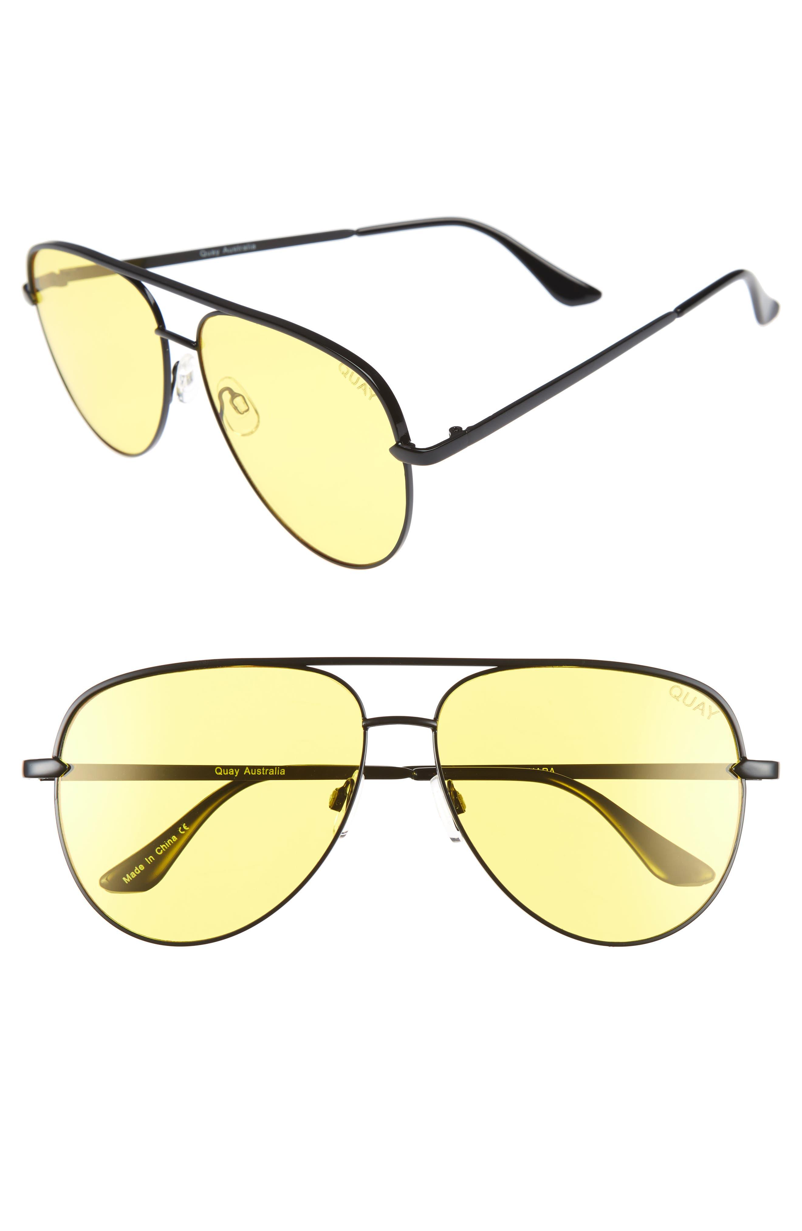 Alternate Image 1 Selected - Quay Australia x Desi Perkins Sahara 60mm Aviator Sunglasses