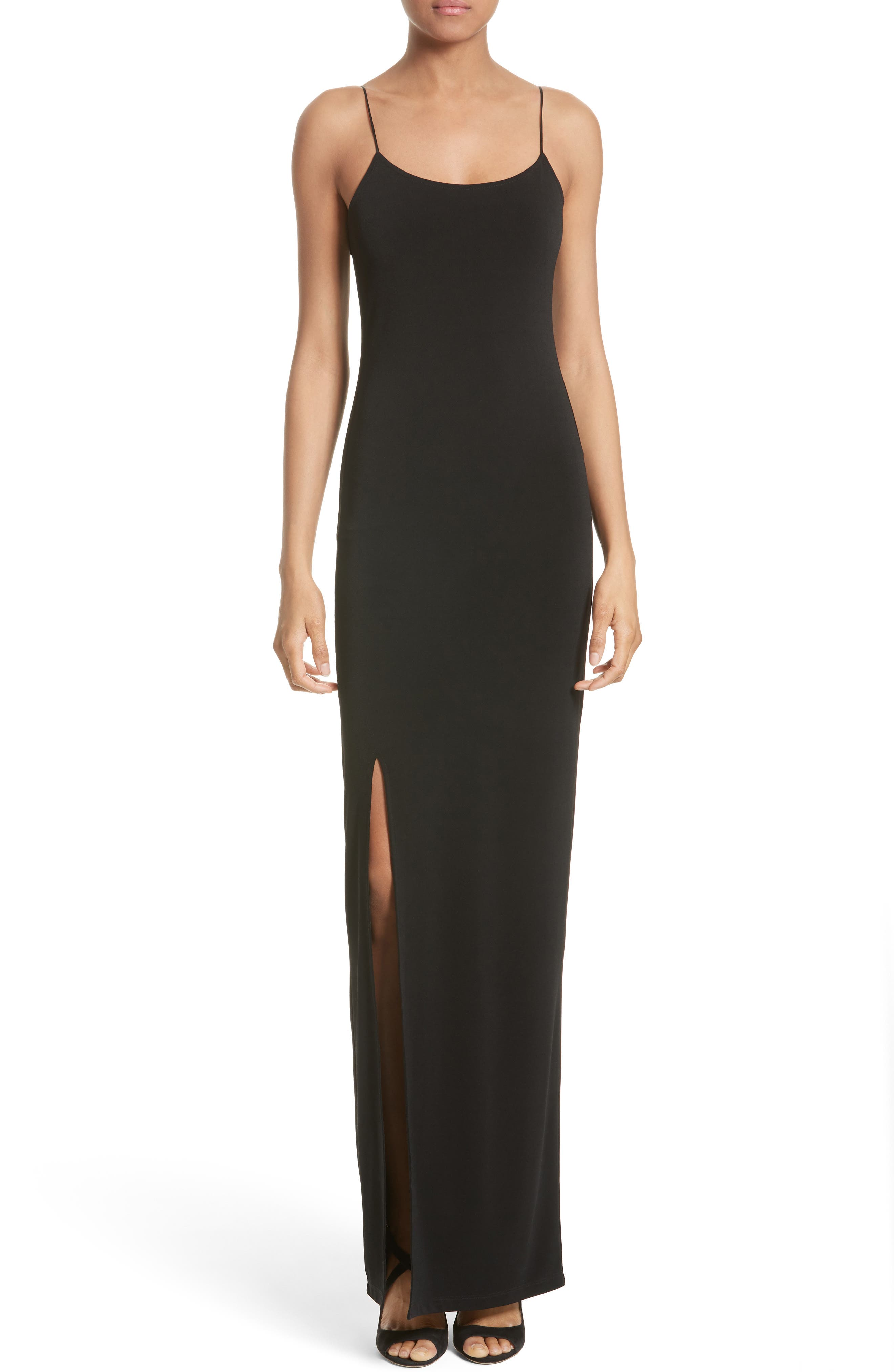 Alternate Image 1 Selected - Alice + Olivia Addie Stretch Knit Maxi Dress