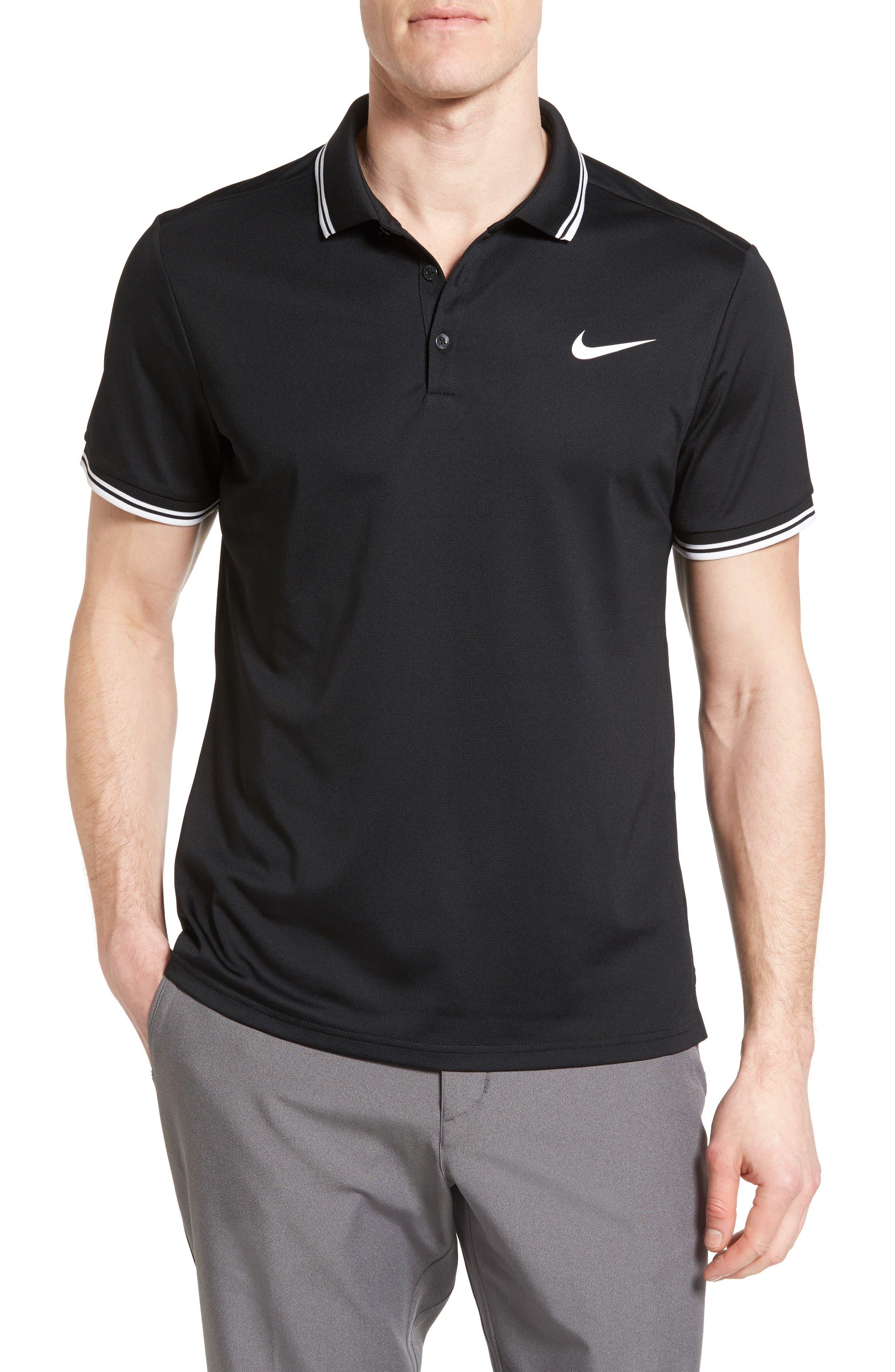 Nike Court Regular Fit Dri-FIT Tennis Polo