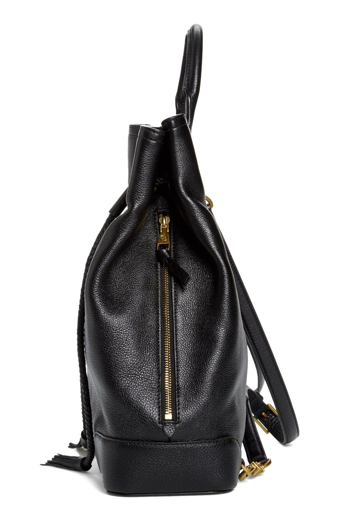 Alternate Image 5  - Tory Burch 'Frances' Leather Backpack