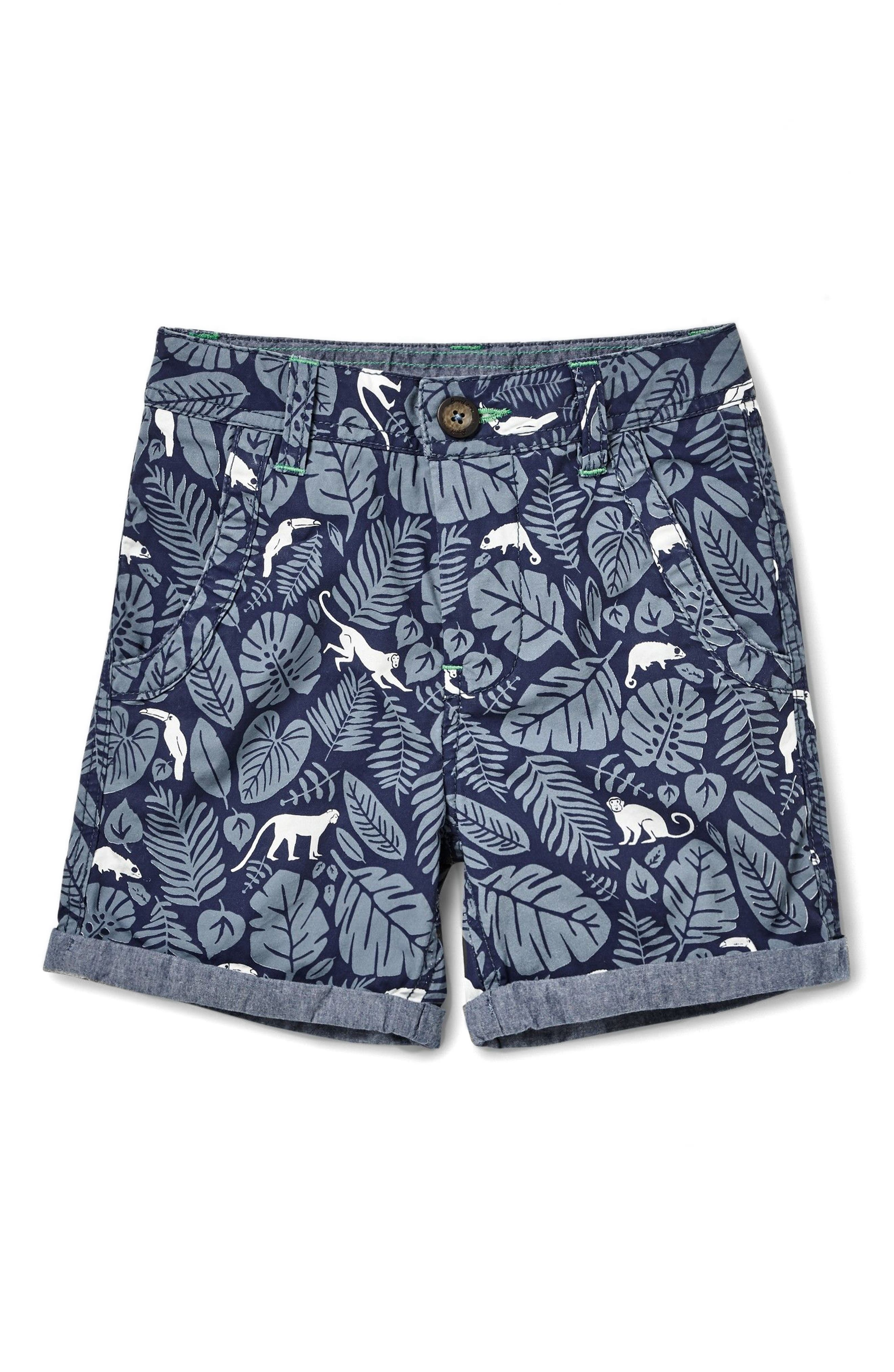 Mini Boden Roll Cuff Shorts (Toddler Boys, Little Boys & Big Boys)