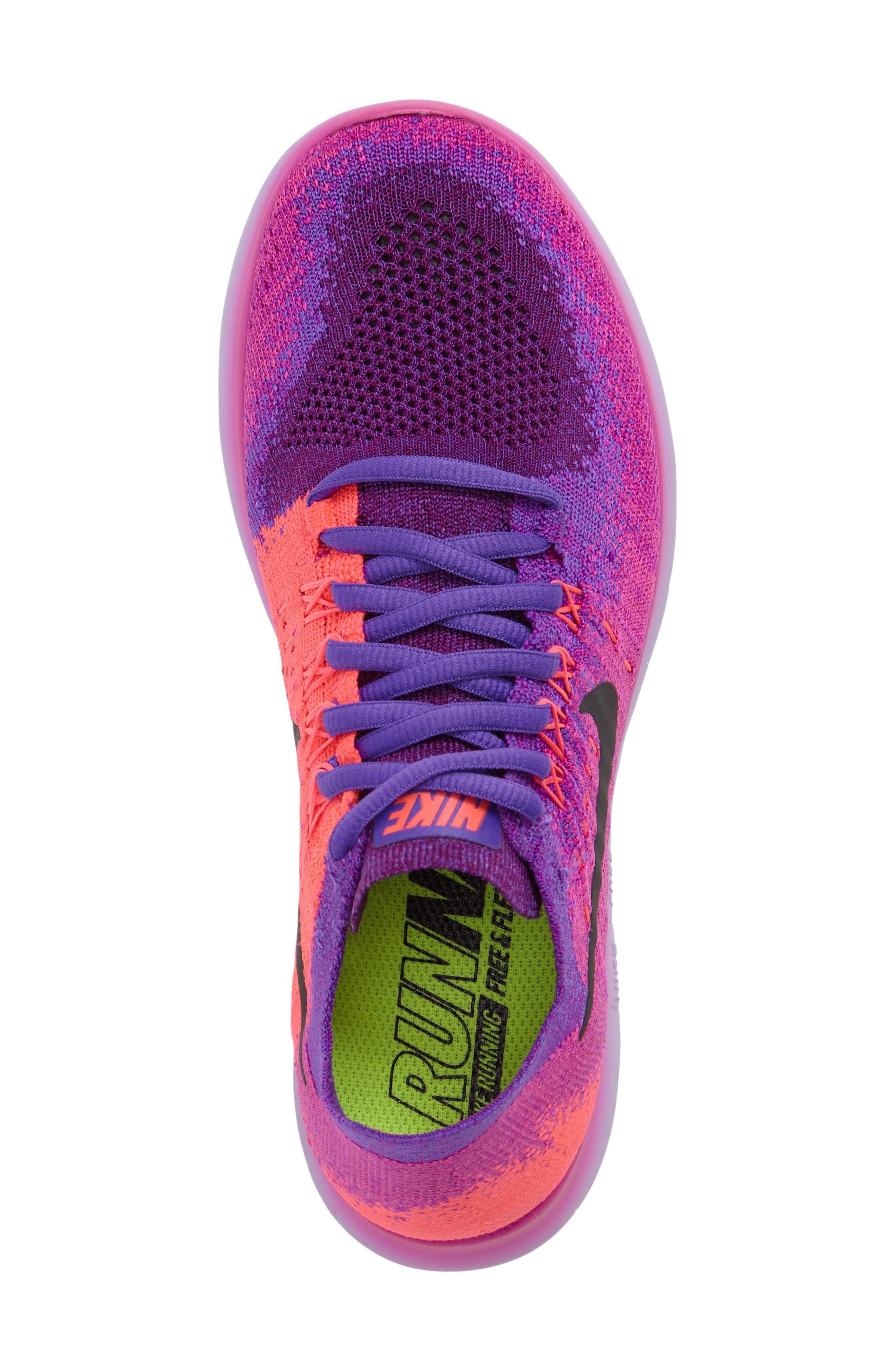 Alternate Image 5  - Nike Free RN Flyknit 2 Running Shoe (Women)