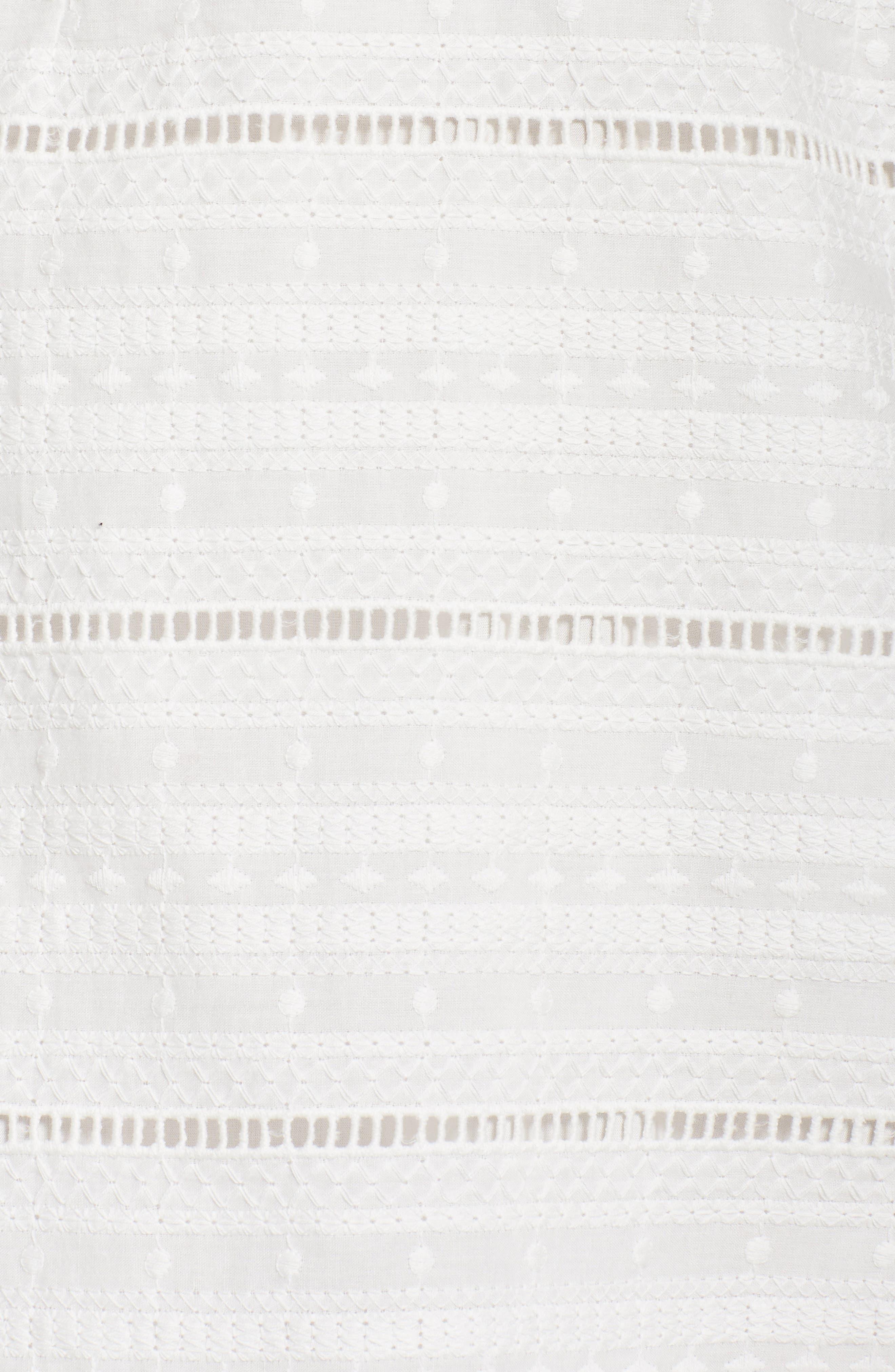 Alternate Image 6  - Chelsea28 Popover Dress
