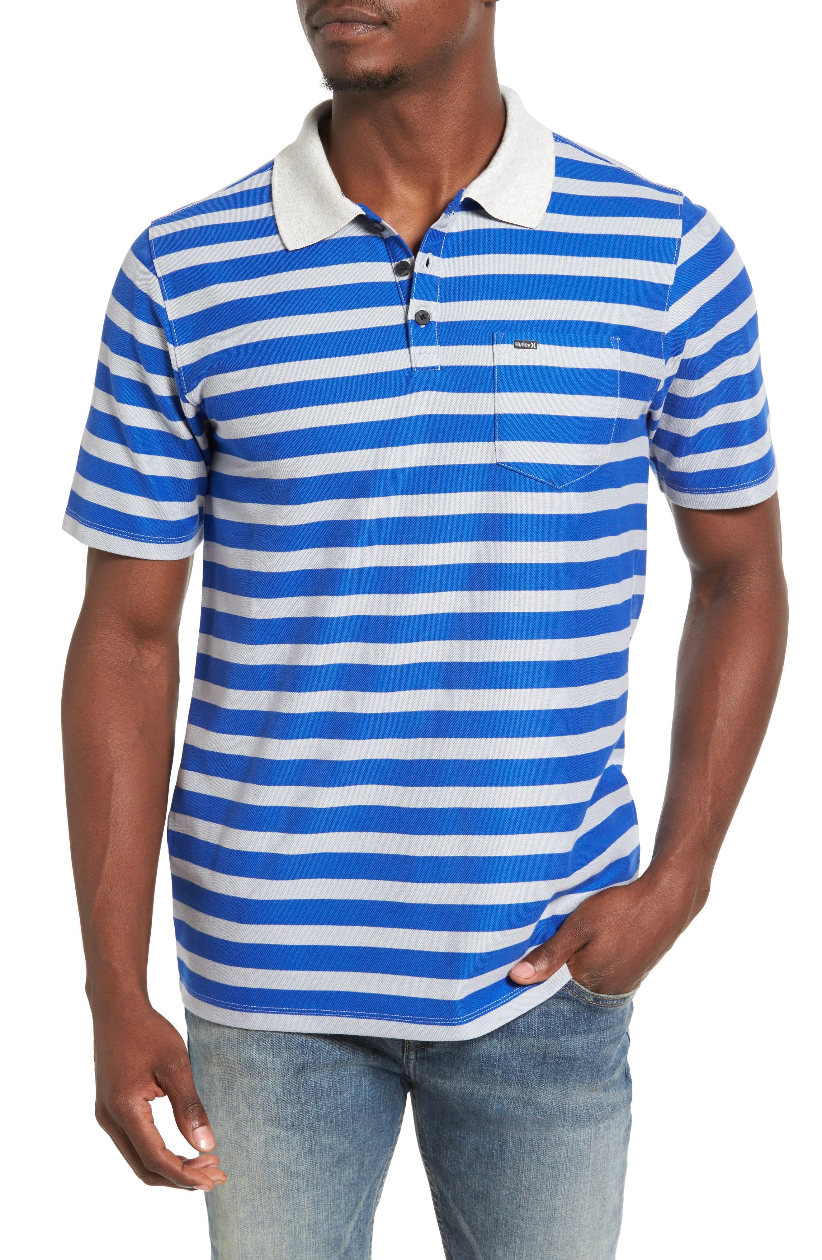 Hurley Lido Stripe Dri-FIT Polo
