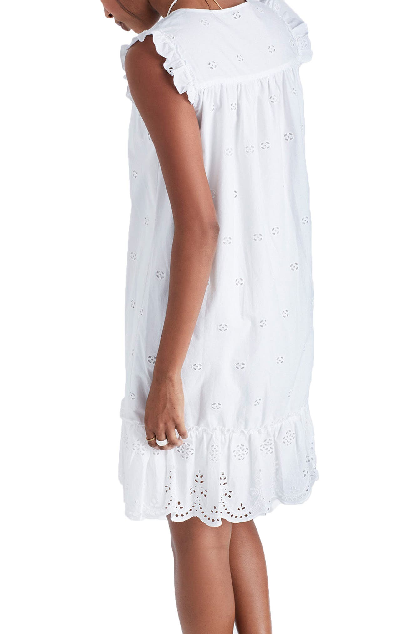 Alternate Image 2  - Madewell Eyelet Garden Dress