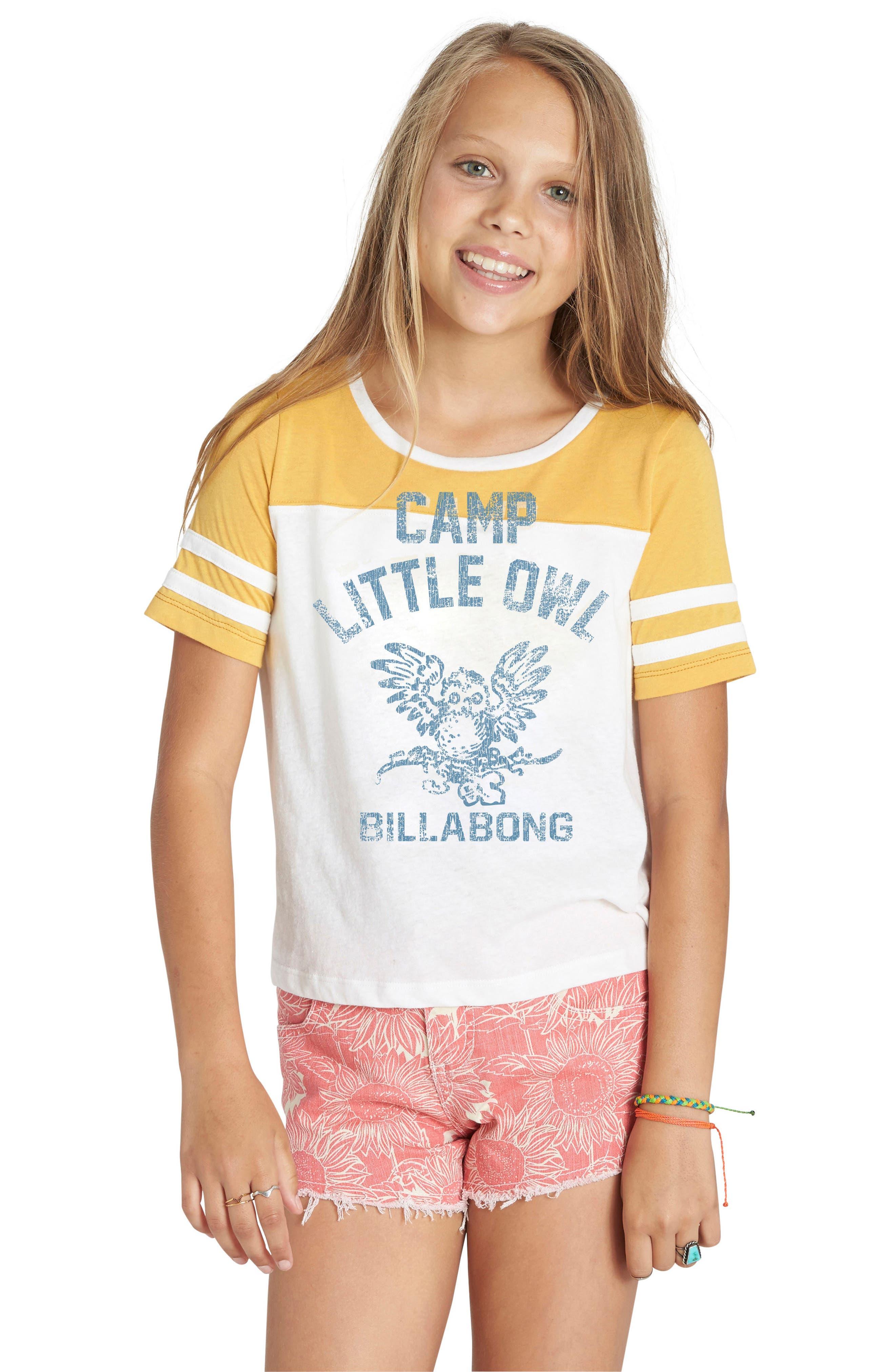 Billabong Graphic Tee (Little Girls & Big Girls)