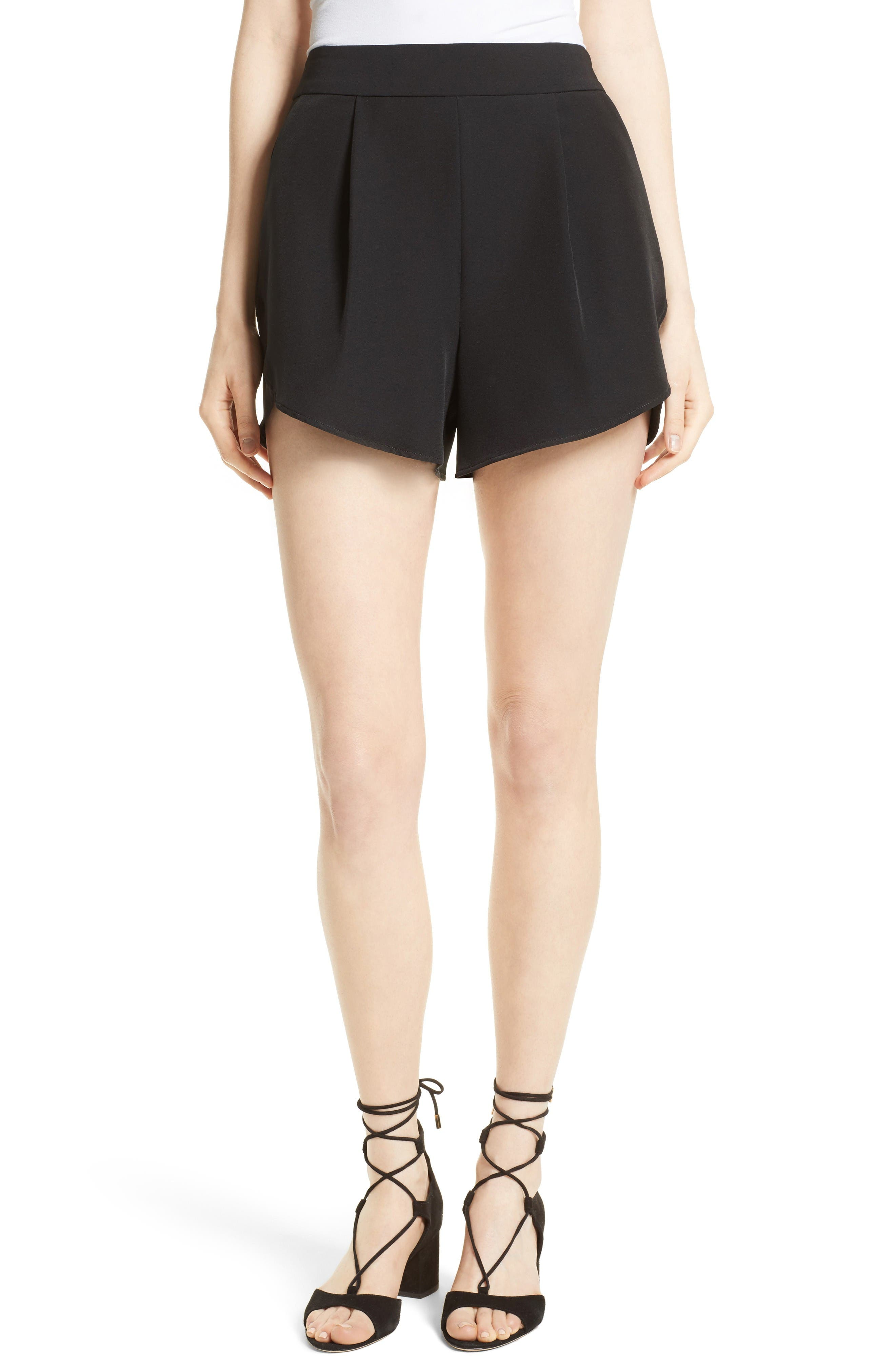 Milly Stretch Woven Shorts