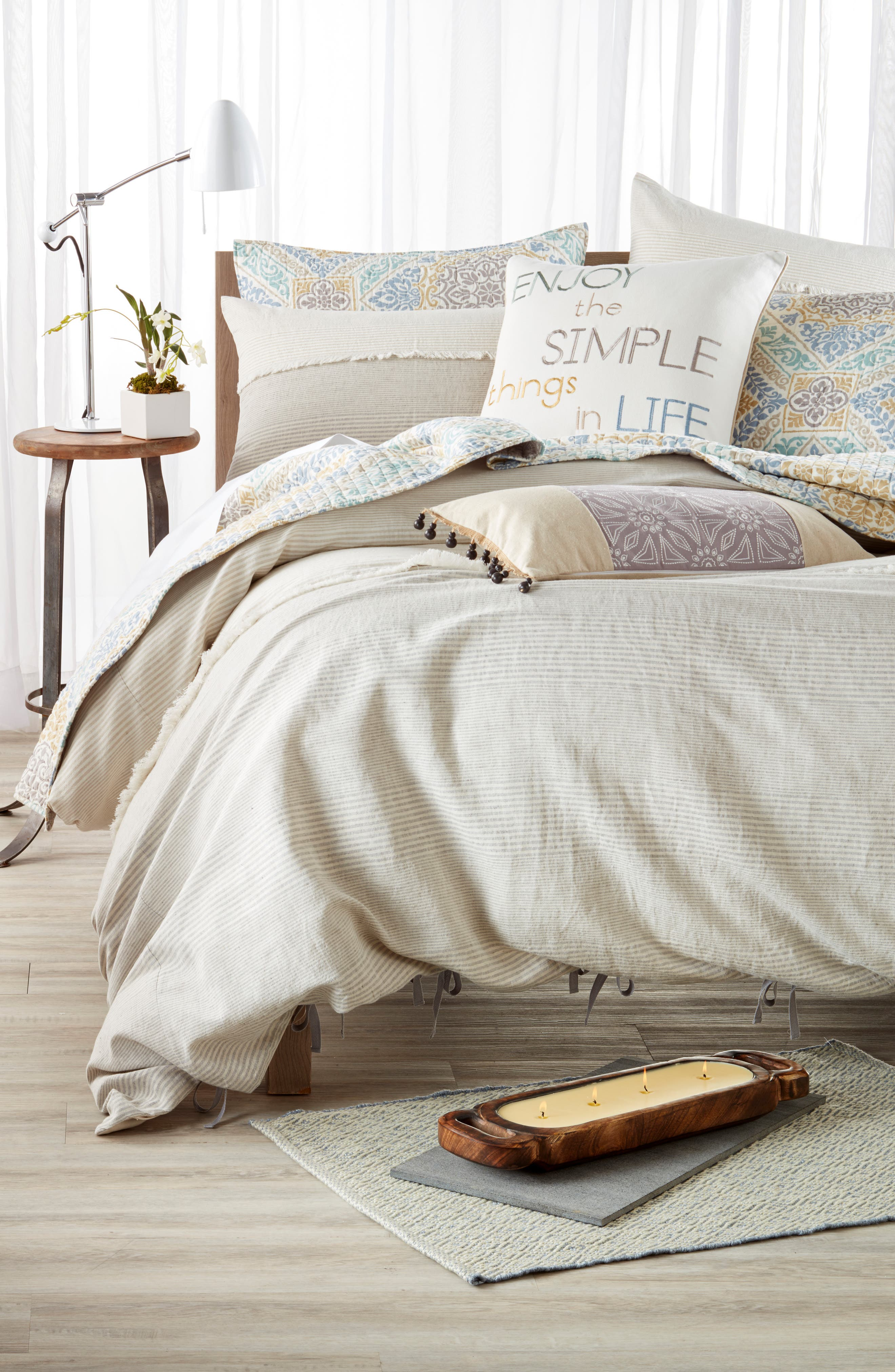 Nordstrom at Home Willa Duvet Cover & Levtex Tatiana Quilt Bedding Collection