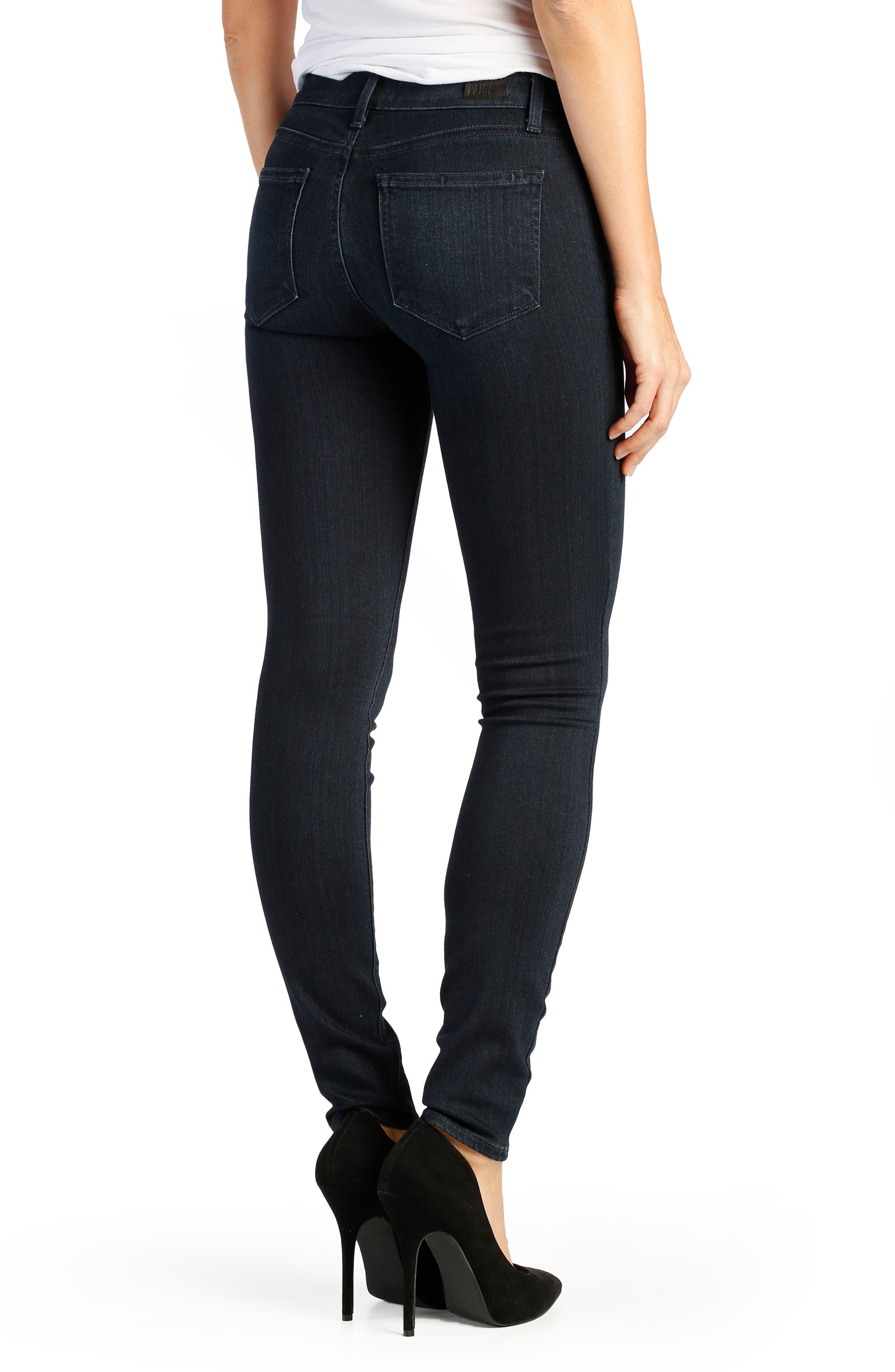 Alternate Image 2  - PAIGE Transcend - Verdugo Ultra Skinny Jeans (Total Mona)