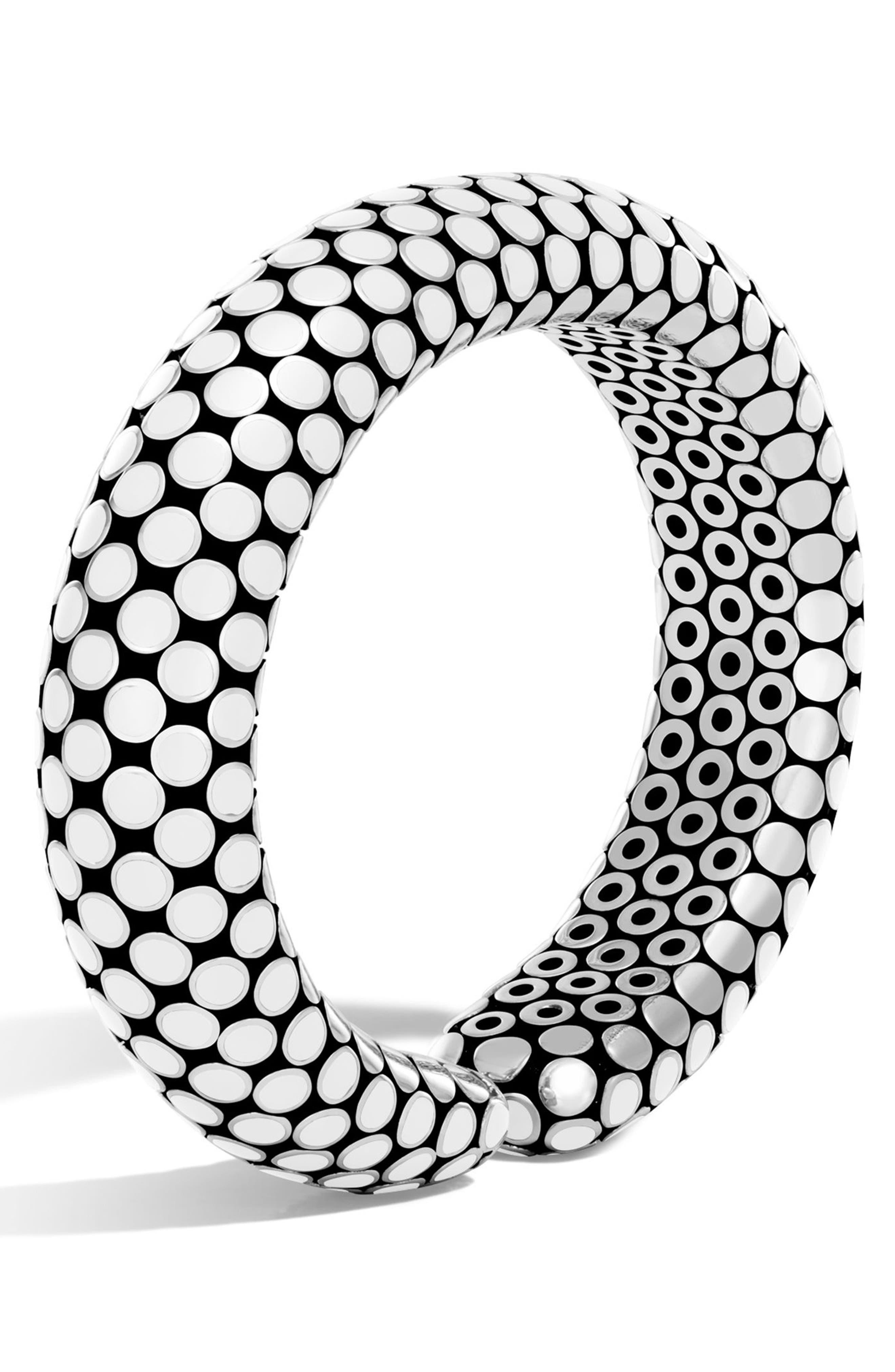 John Hardy Dot Medium Silver Cuff