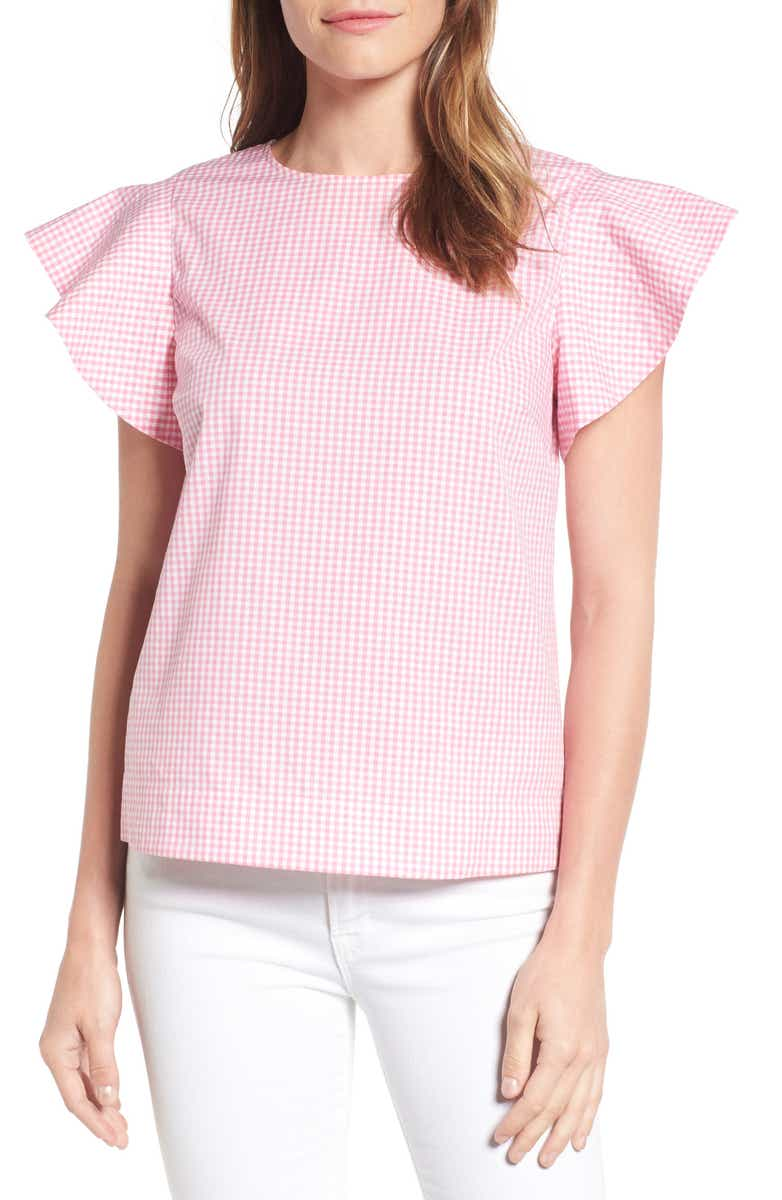 Love this darling gingham top