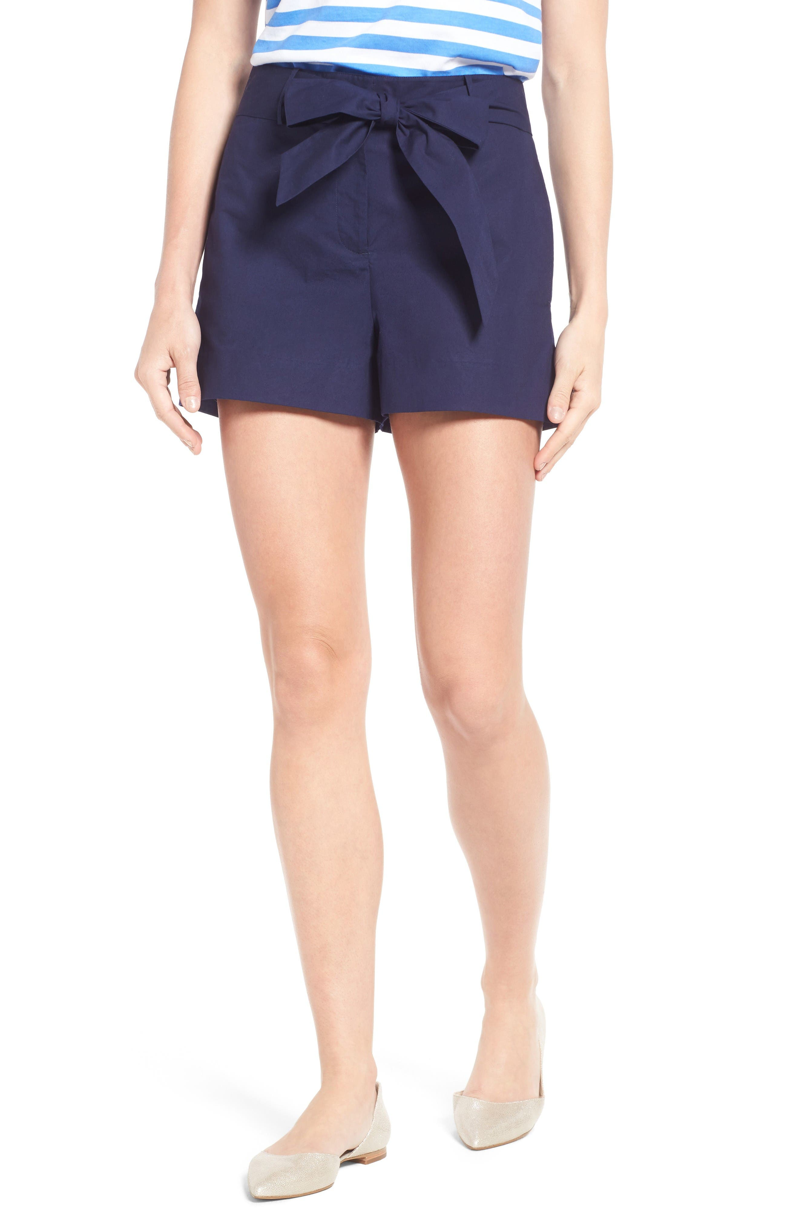 Draper James Sadie Cotton Shorts (Nordstrom Exclusive)