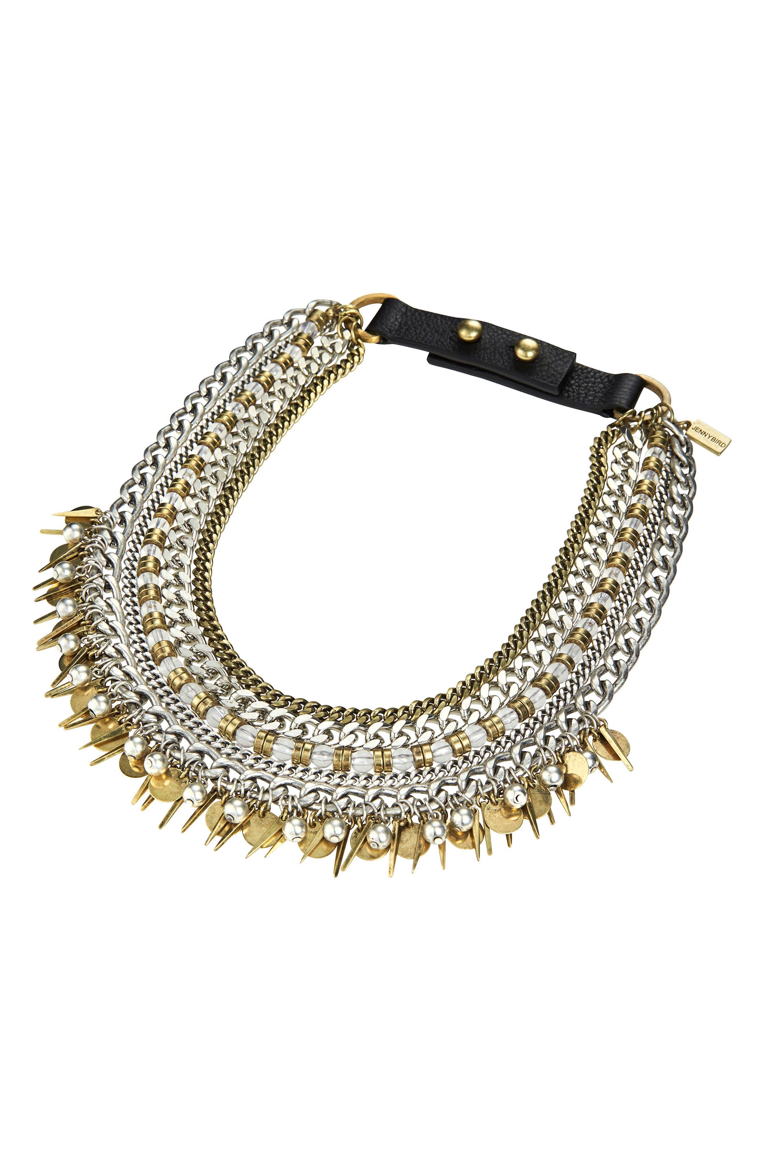 Alternate Image 4  - Jenny Bird Talitha Multistrand Collar Necklace