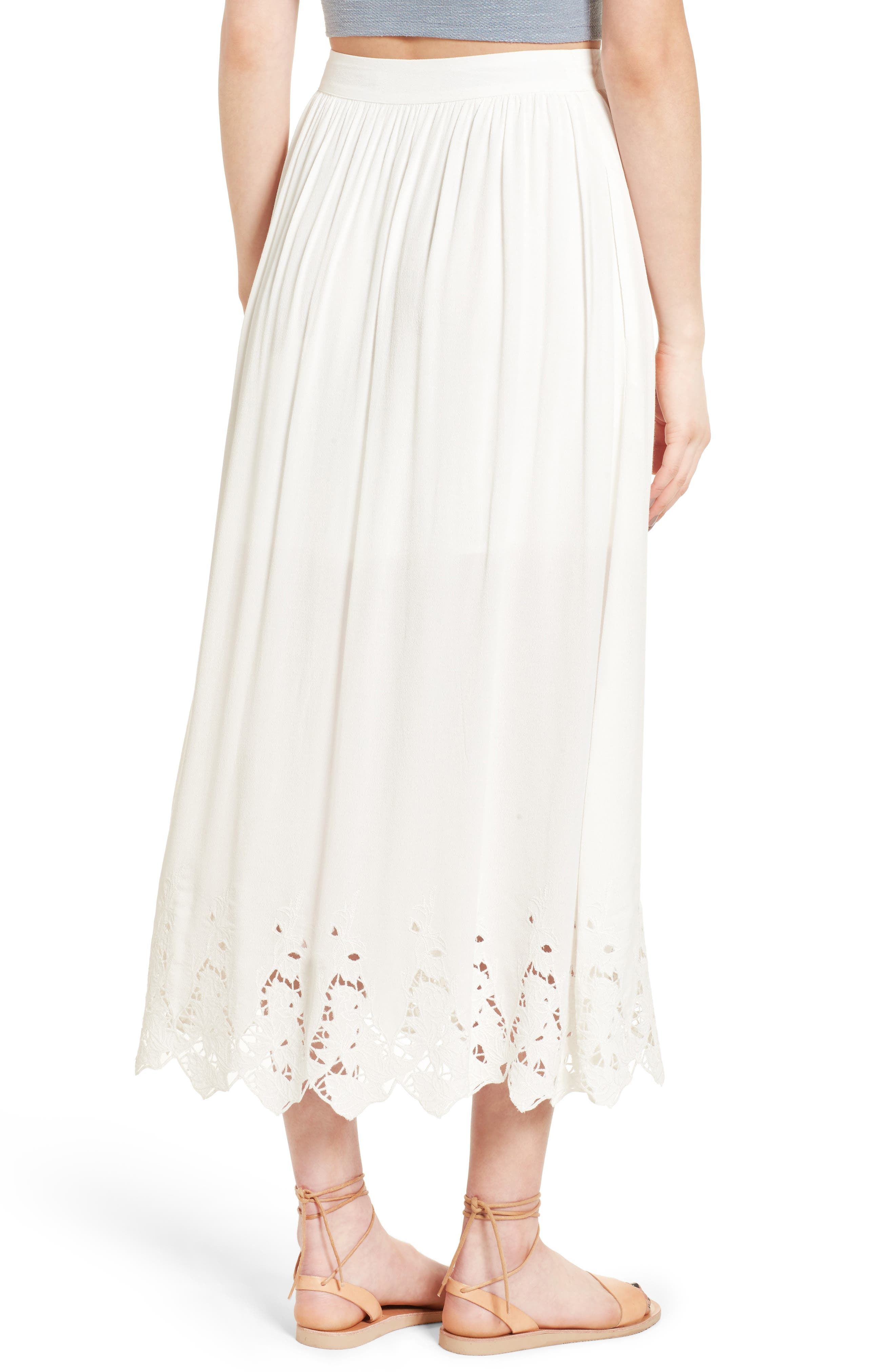 Alternate Image 3  - ASTR the Label Maxi Skirt