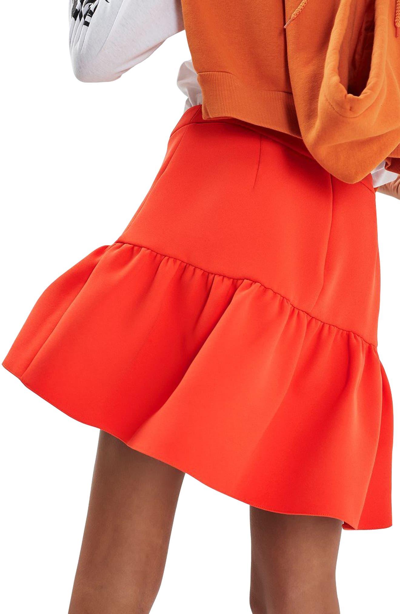 Alternate Image 4  - Topshop Peplum Skirt