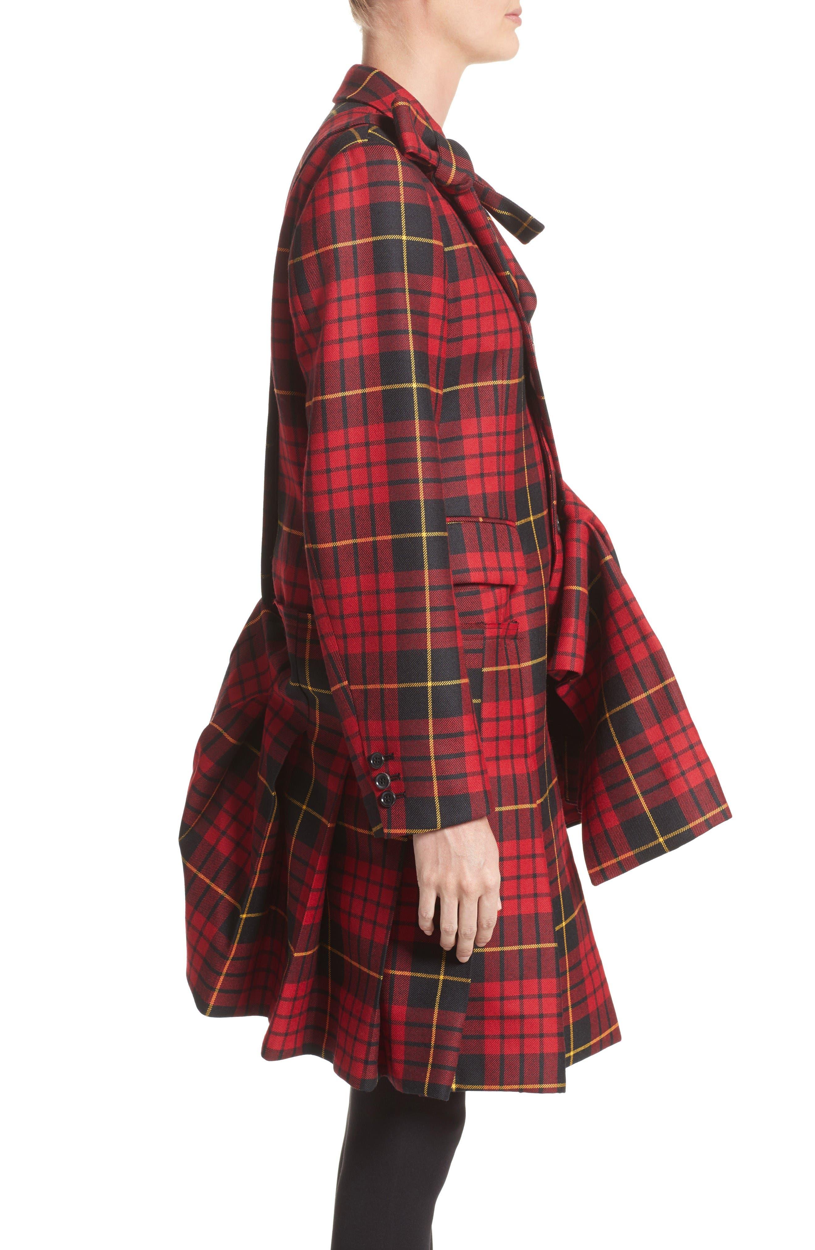 Alternate Image 5  - Comme des Garçons Tartan Plaid Wool Jacket