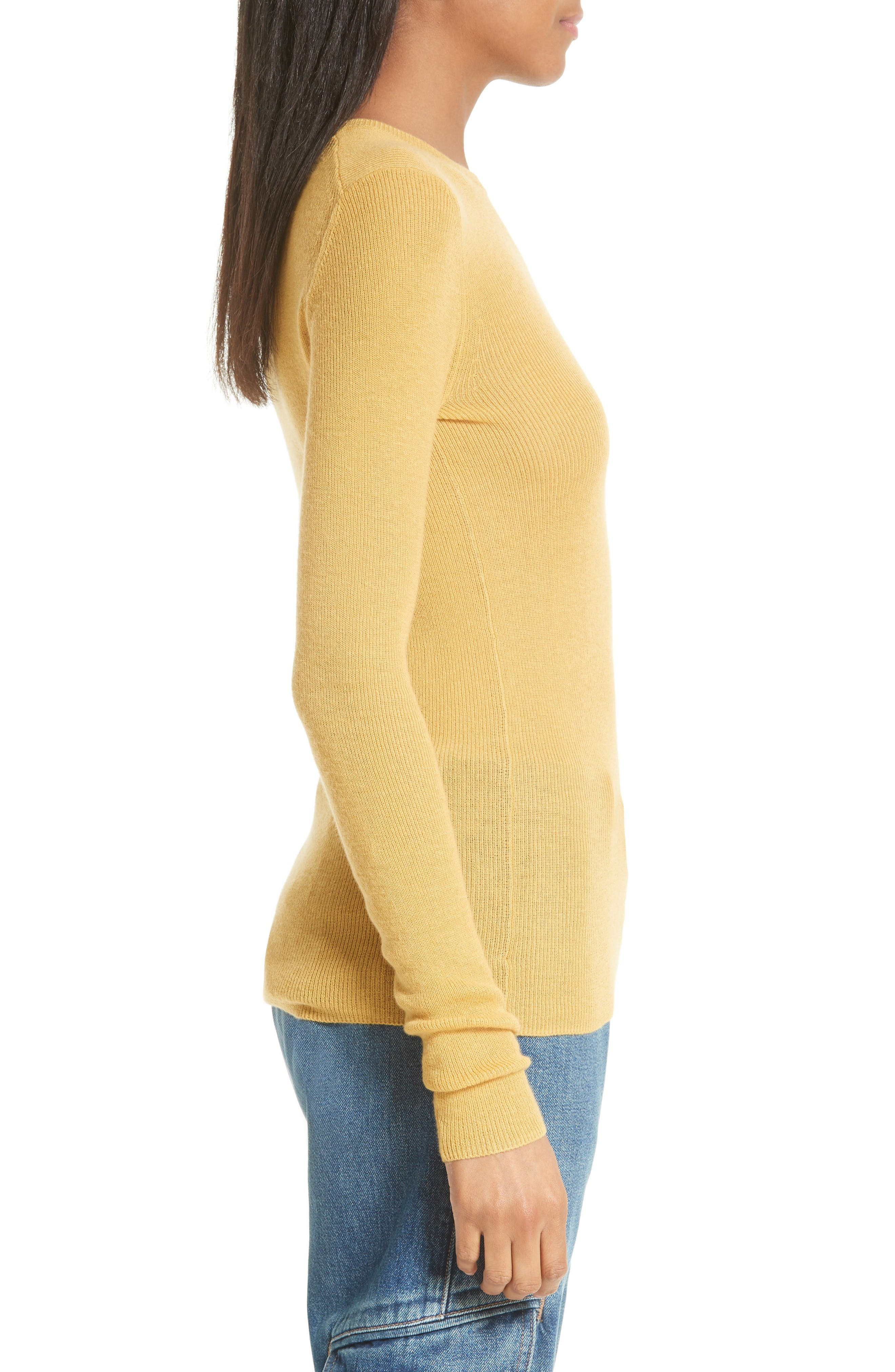 Alternate Image 3  - Vince Ribbed Cashmere Sweater