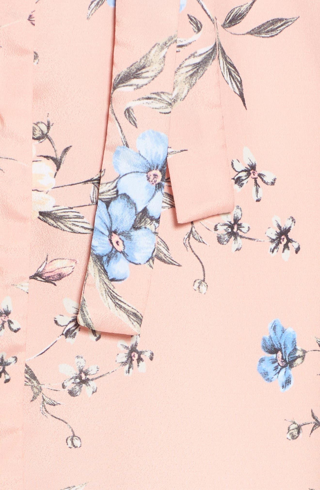 Alternate Image 6  - Ali & Jay Flower Frolicking Midi Dress