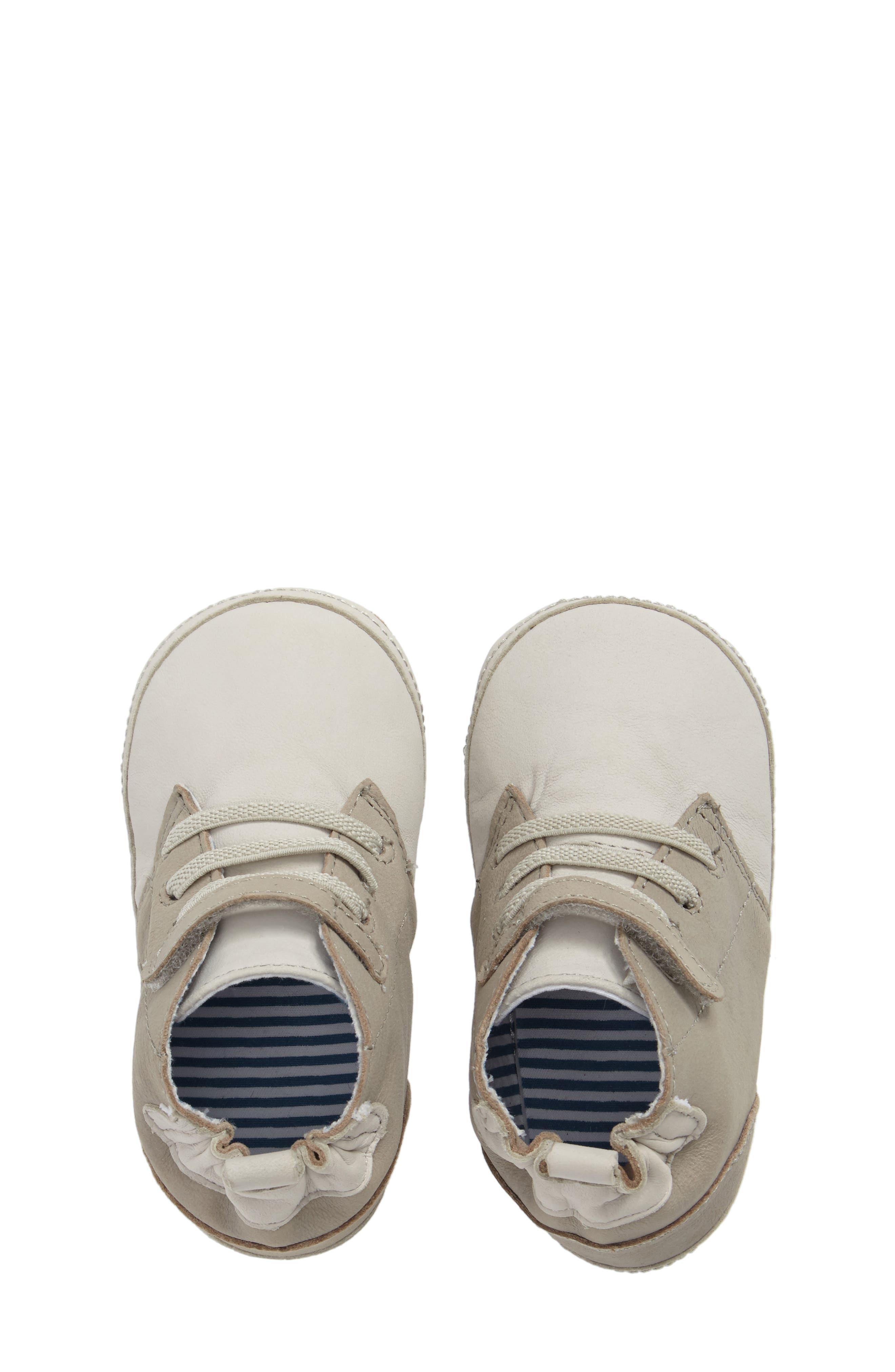 Alternate Image 5  - Robeez® Elijah Crib Shoe (Baby & Walker)