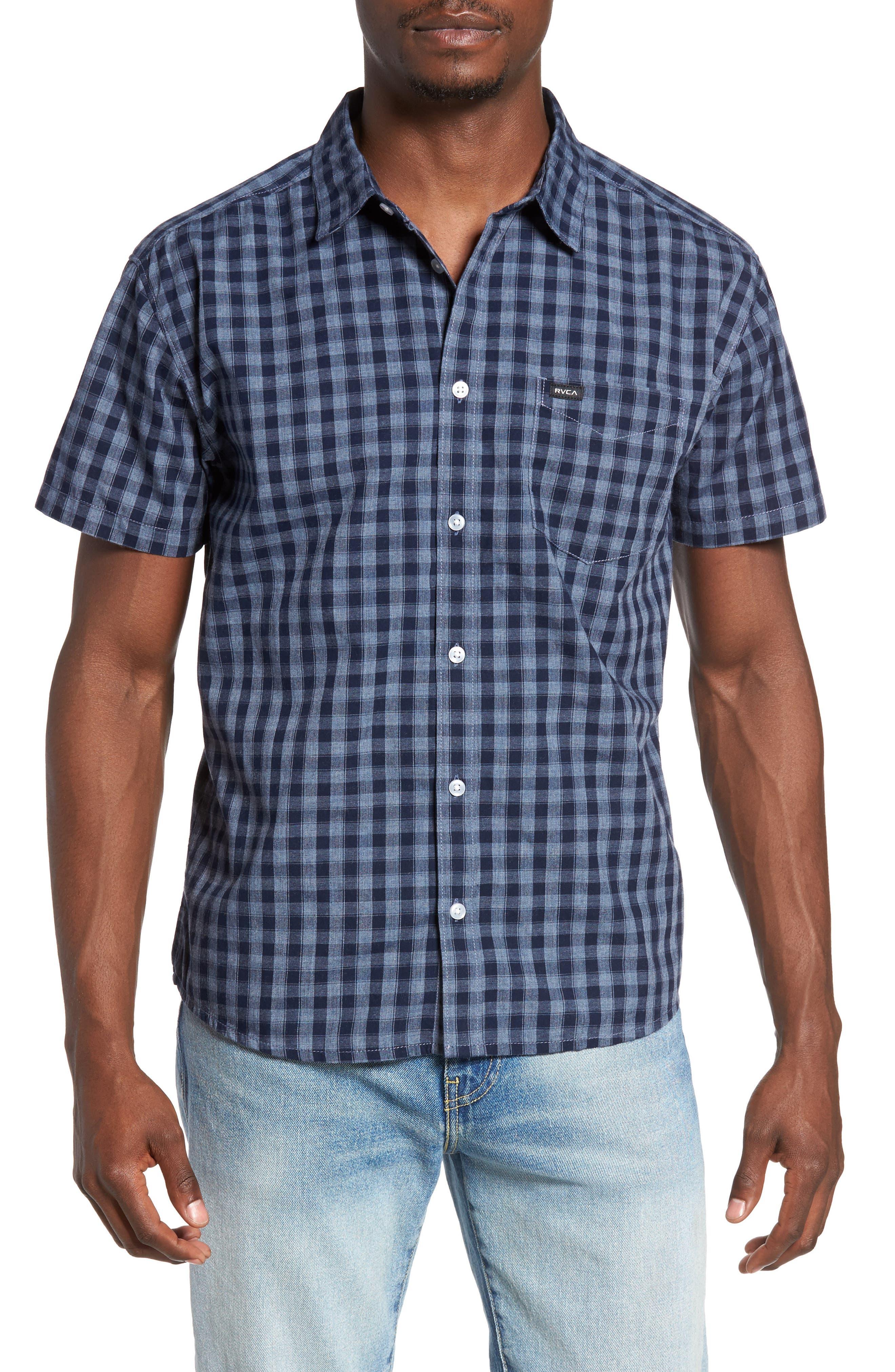 RVCA Check Woven Shirt