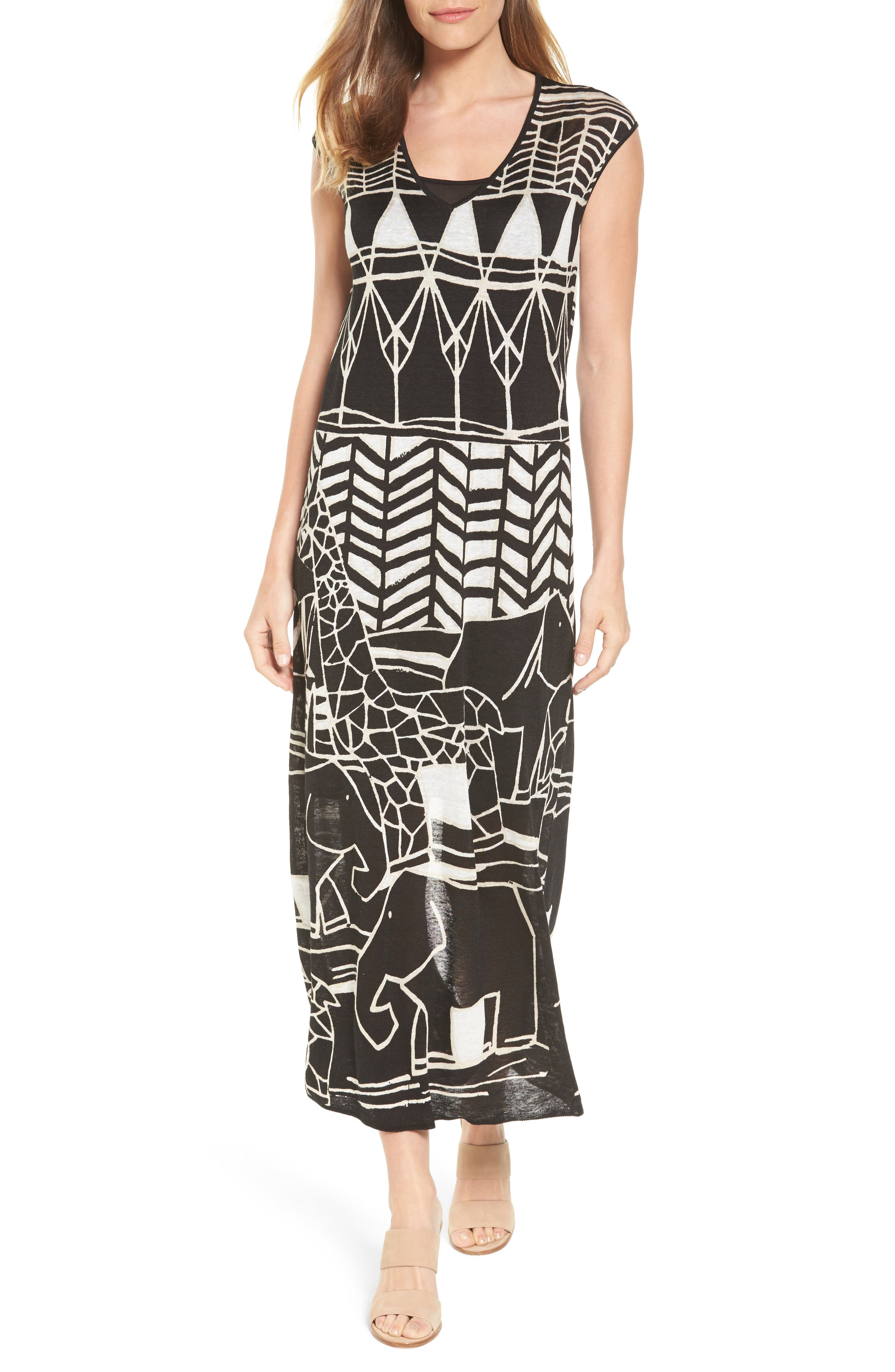 NIC+ZOE Wild Things Maxi Dress